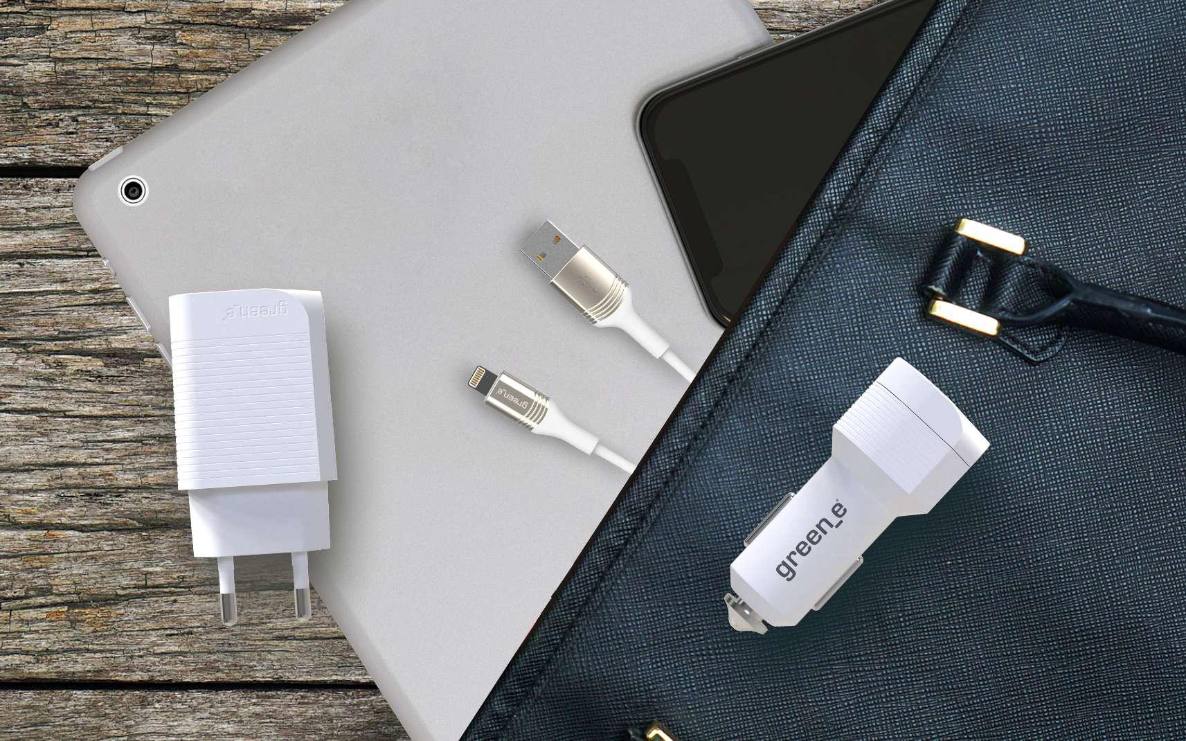 Les chargeurs et câbles biosourcés optimisent les cycles de charge d'une batterie d'un smartphone ou d'une tablette, tout en réduisant le temps de charge. ©Greene_e