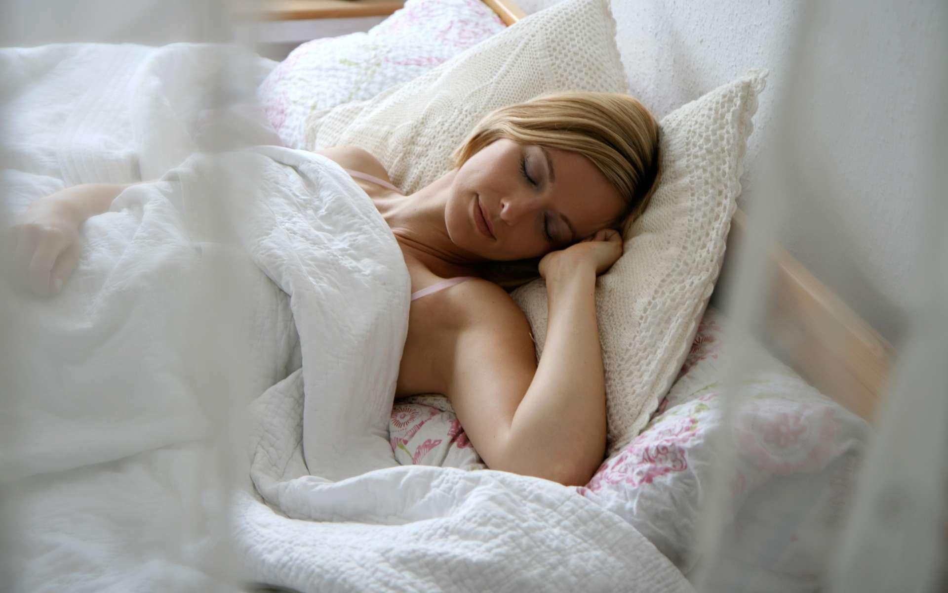 Une bonne hygiène de vie favorise le sommeil. © Fotolia