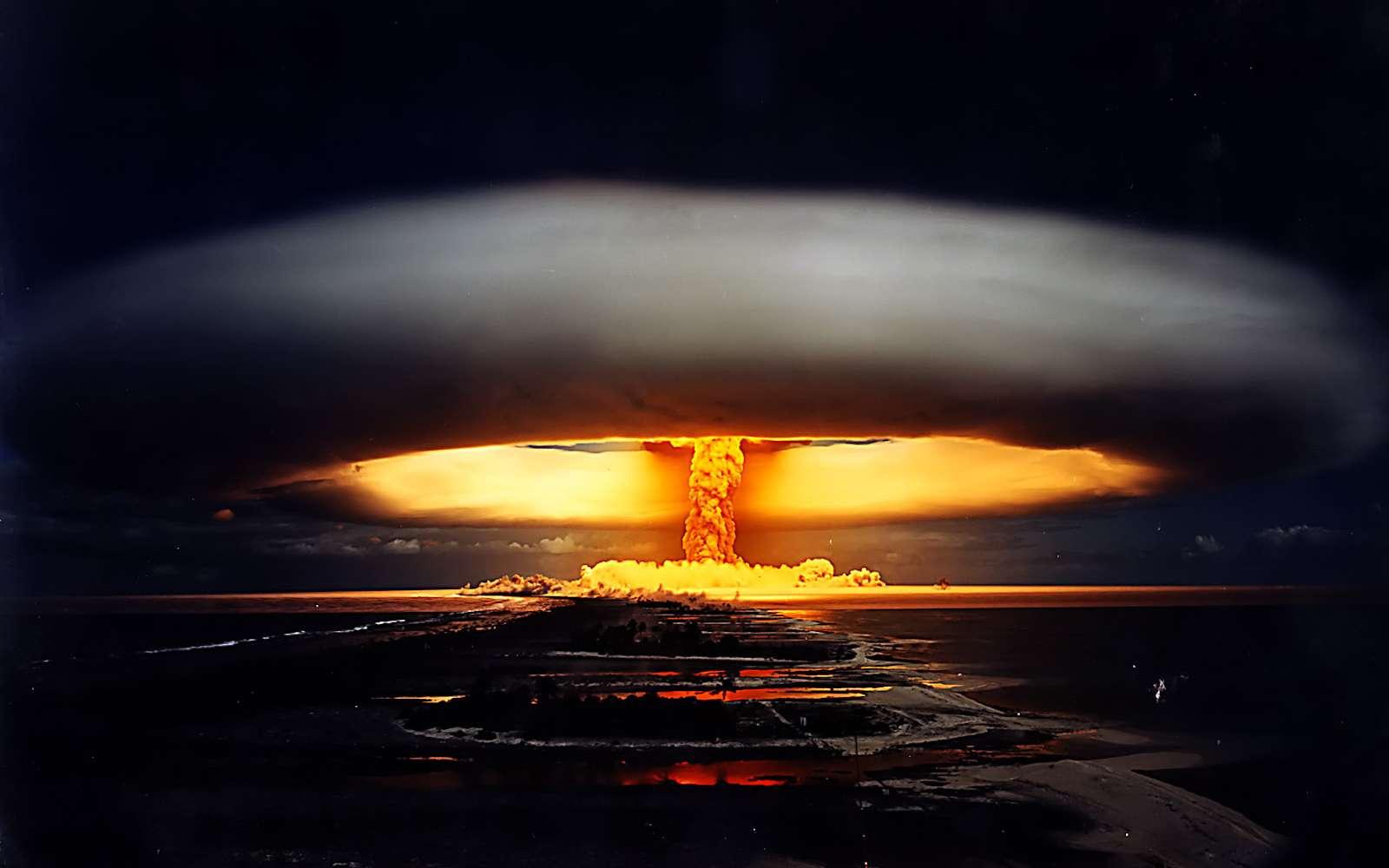 Quelles seraient les conséquences d'une guerre nucléaire totale ? © Pierre J, Flickr