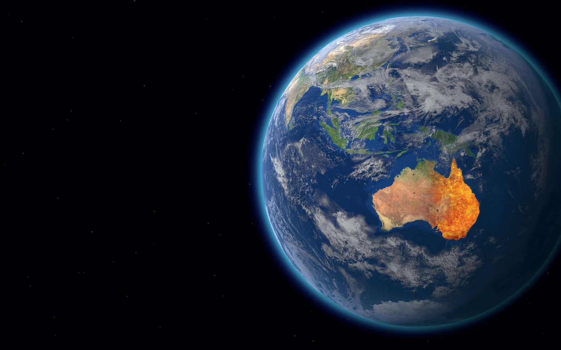 En 2019-2020, l'Australie aura connu l'une des pires saisons de feux de brousse de toute son histoire. © ink drop, Adobe Stock