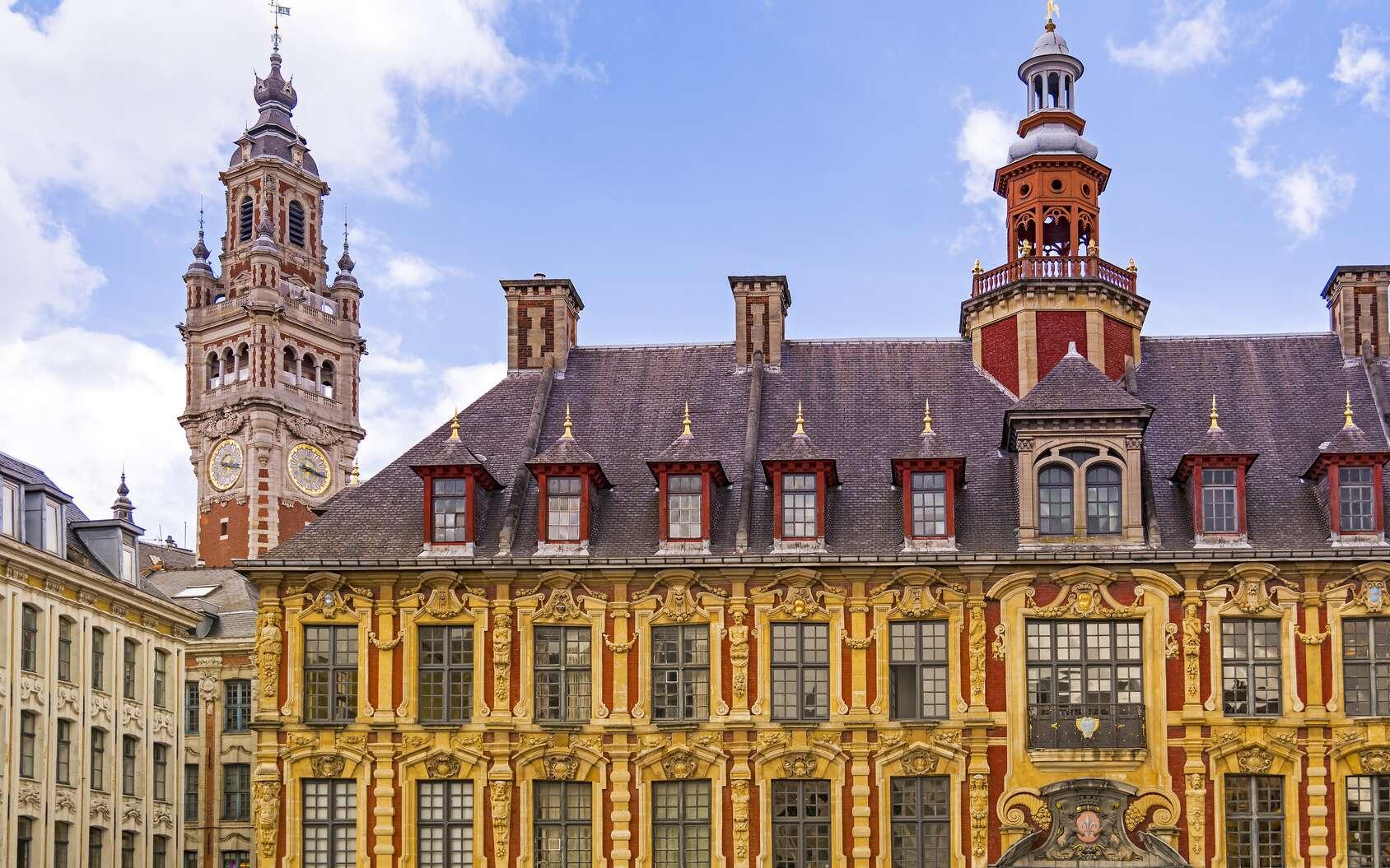 L'influence espagnole est visible dans de nombreuses villes des Flandres, des Pays-Bas et au nord de la France comme ici à Lille. © Flaviu Boerescu, fotolia