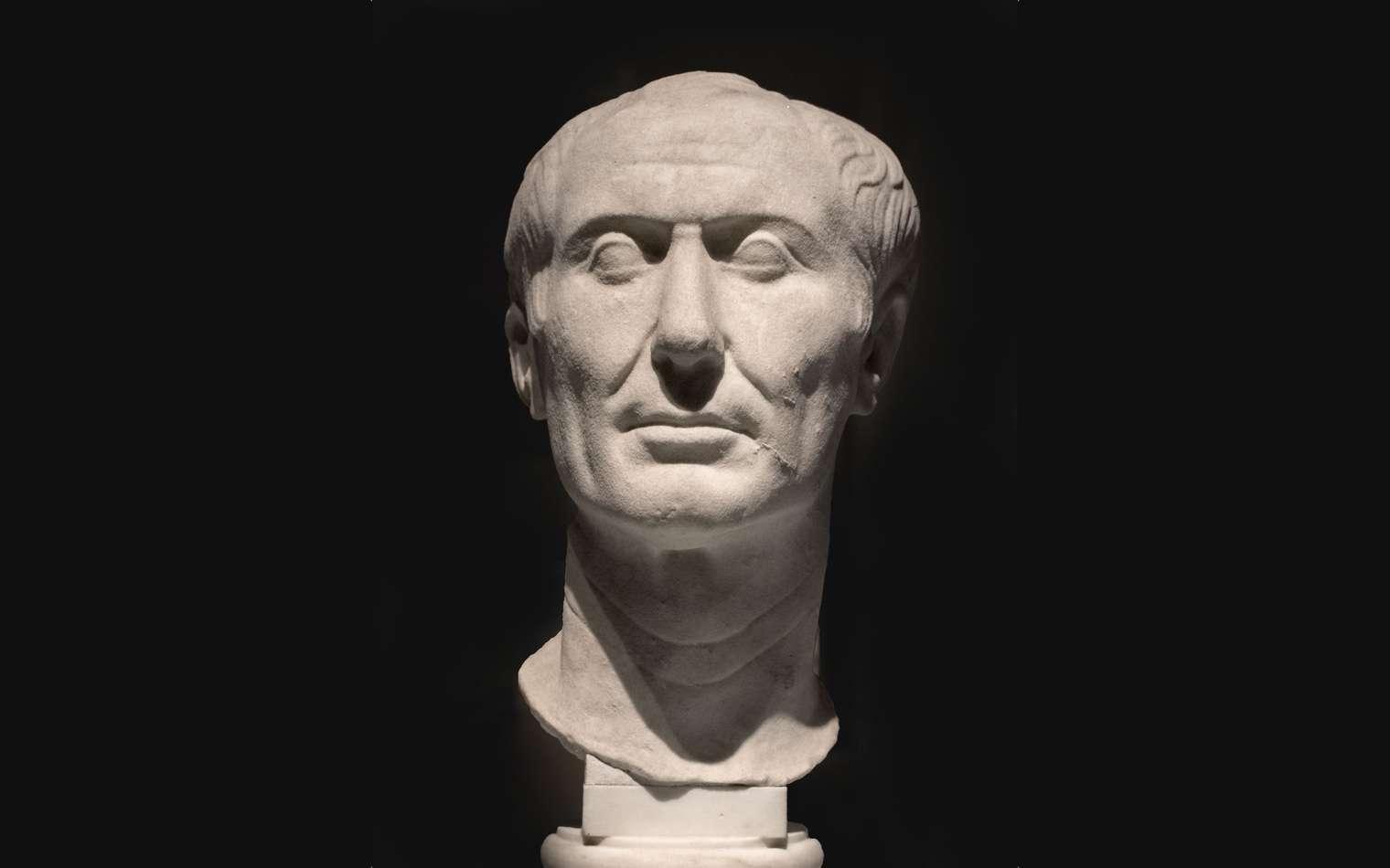 Portrait de Tusculum de Jules César, l'un des rares qui aurait été sculpté du vivant du général romain. © Domaine public
