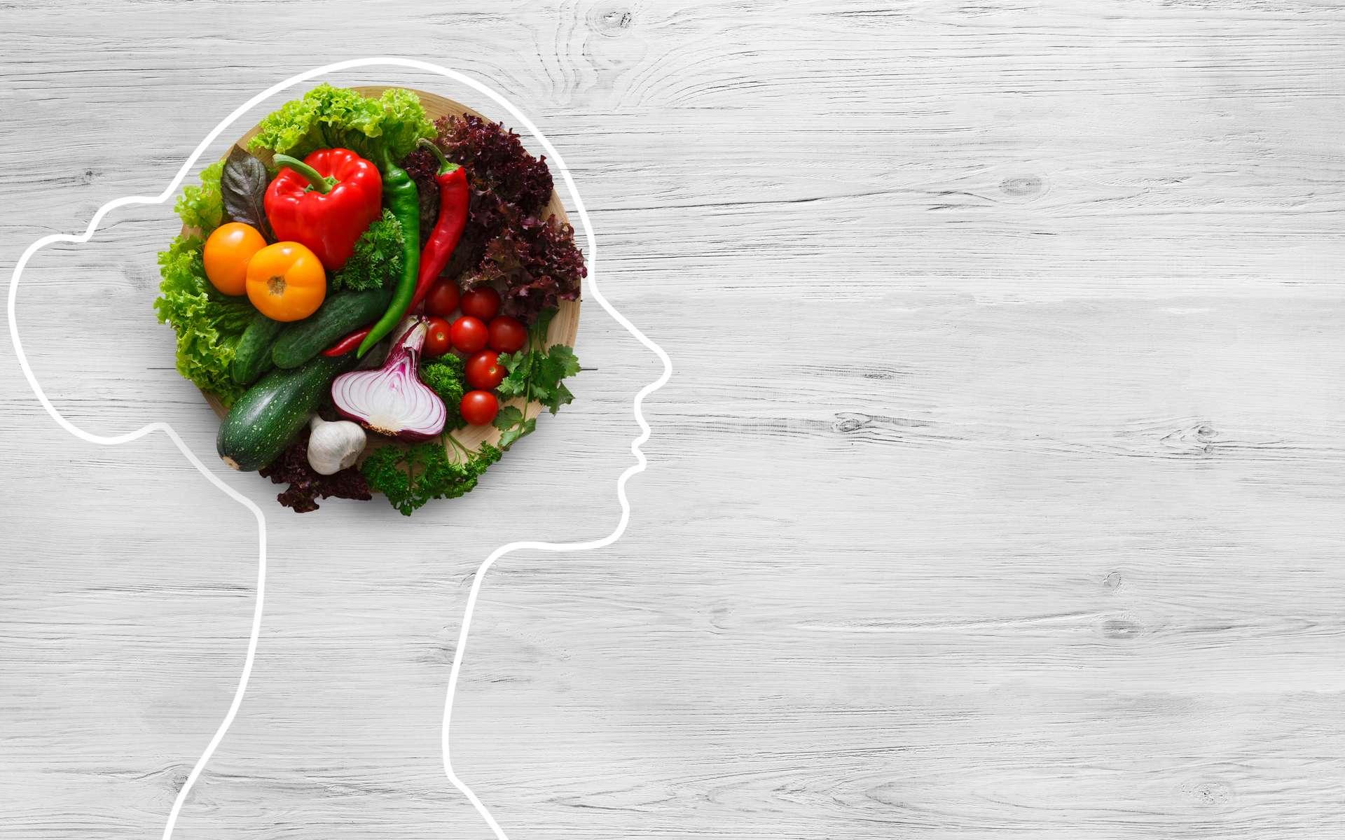 L'importance de l'alimentation pour bien nourrir son cerveau. © Prostock-studio, Adobe Stock
