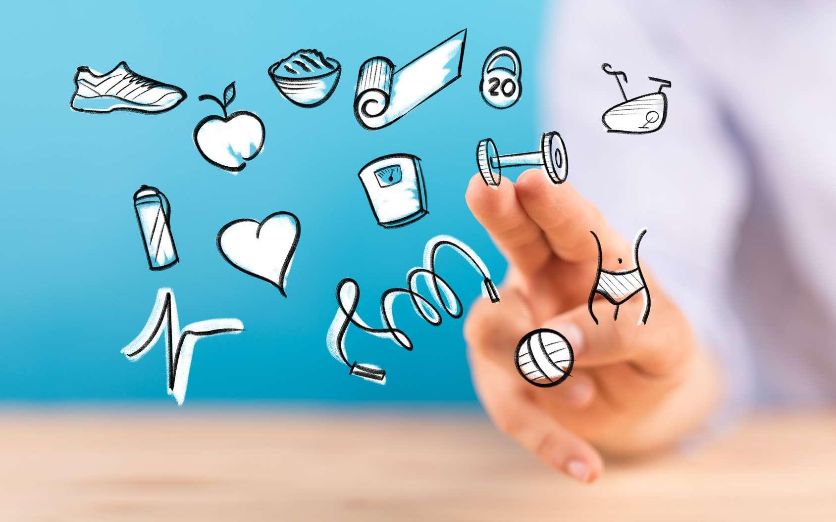 Sport, alimentation, vie professionnelle, stress… Neuf startups vous aident à tenir vos objectifs. © vegefox.com, Fotolia