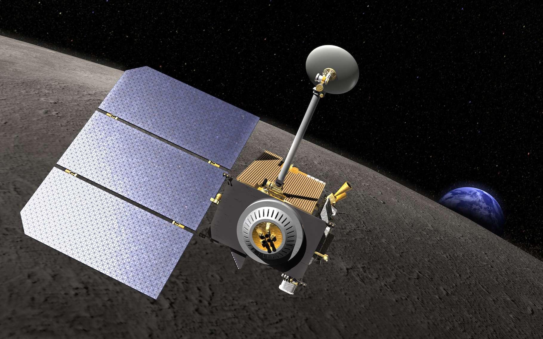 Les images fournies par la sonde Lunar Reconnaissance Orbiter (LRO) ont permis aux chercheurs de retracer les parcours des deux premiers Hommes sur la Lune, Neil Armstrong et Buzz Aldrin. © Nasa