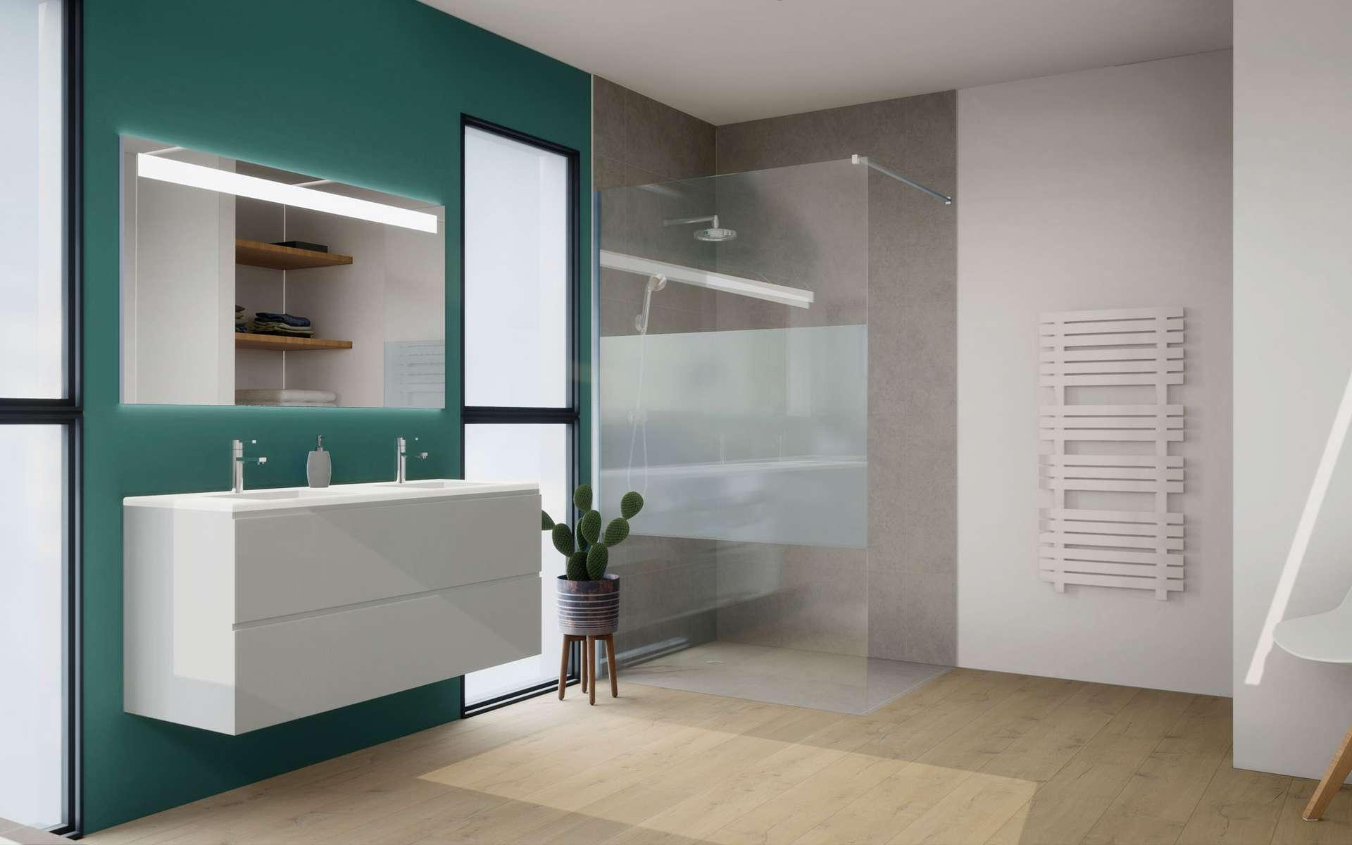 Perfect Cout Renovation Salle De Bain Avec Douche Italienne