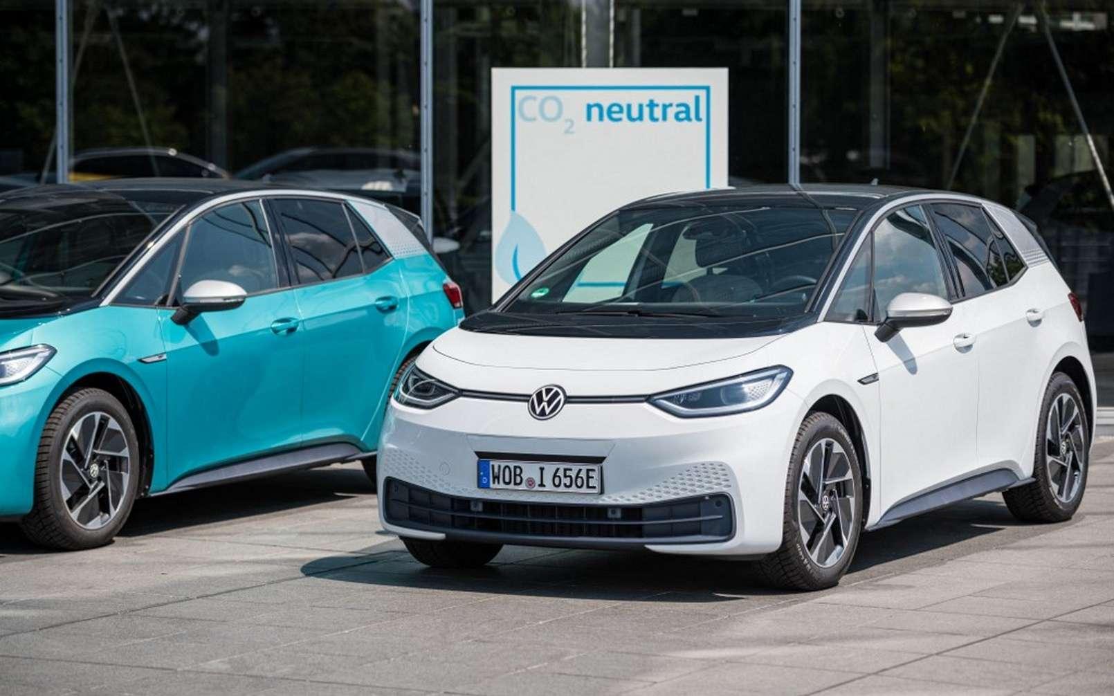 Le groupe Volkswagen n'est pas le seul ni le premier à annoncer la fin des moteurs thermiques. © Volkswagen
