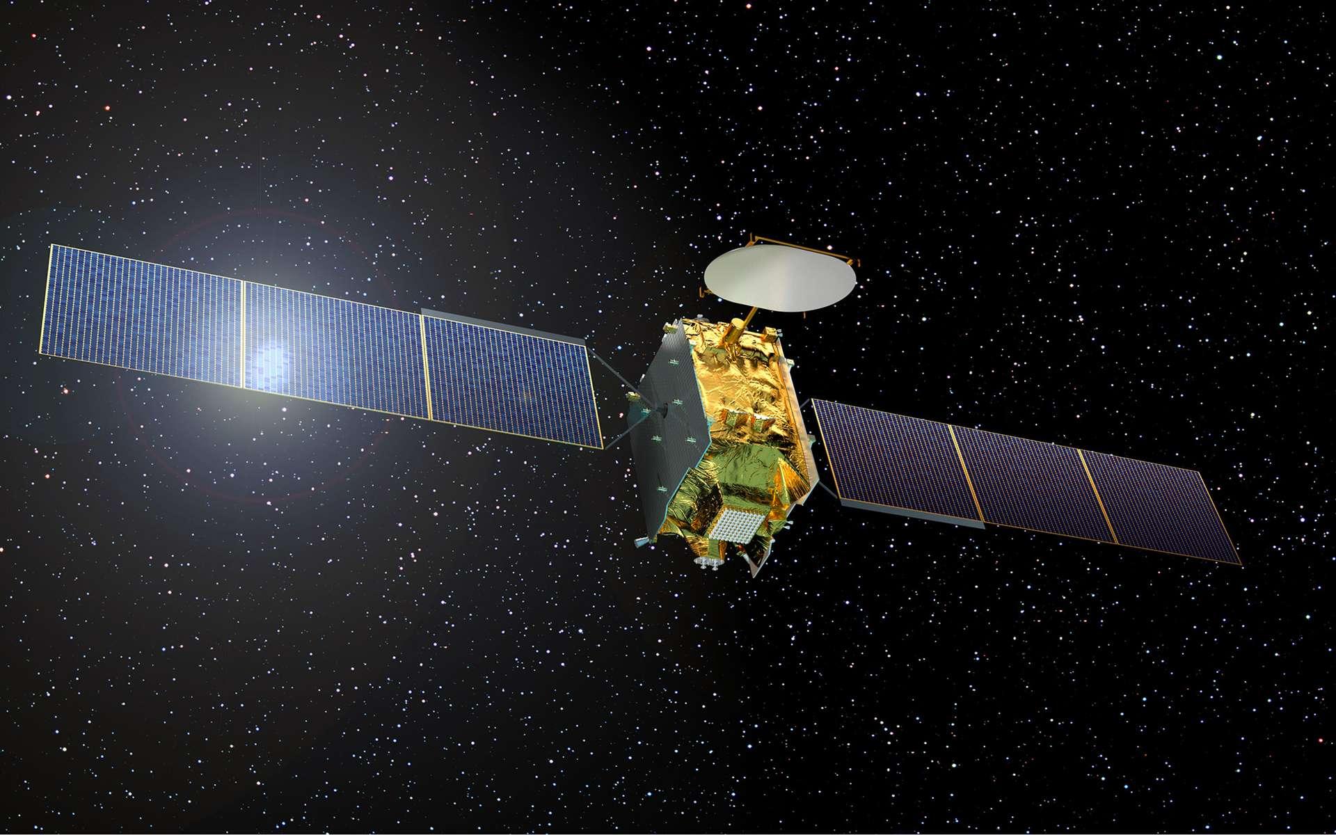 Le futur satellite Eutelsat Quantum sera construit autour d'une plateforme nouvelle dont la réalisation a été confiée à Surrey Satellite Technology Ltd (SSTL), filiale d'Airbus Defence and Space. La livraison de Quantum est prévue en 2018. © D. Eskenazi, Airbus Defence and Space