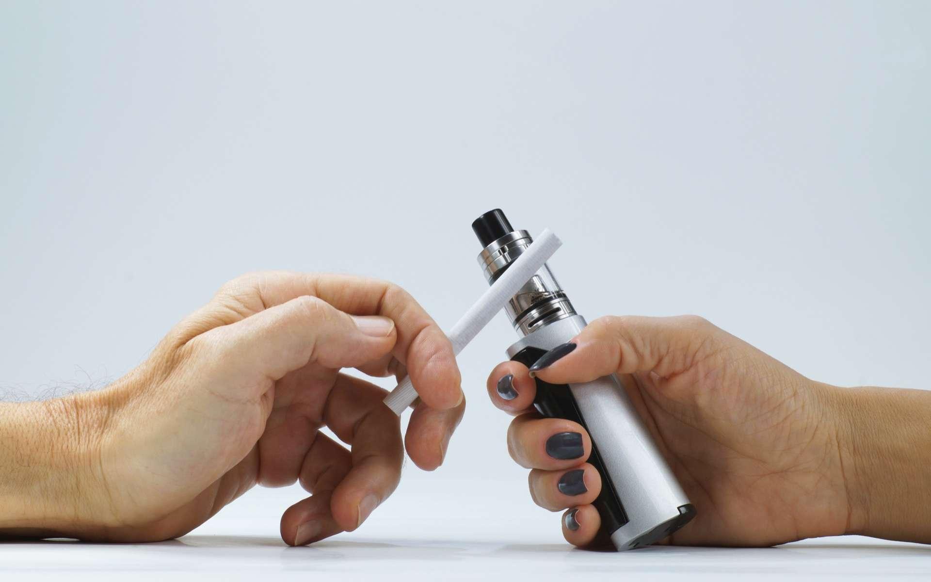 Ce marqueur biologique pourrait servir à prédire le recours à la cigarette électronique. © Wlodzimierz, Adobe Stock
