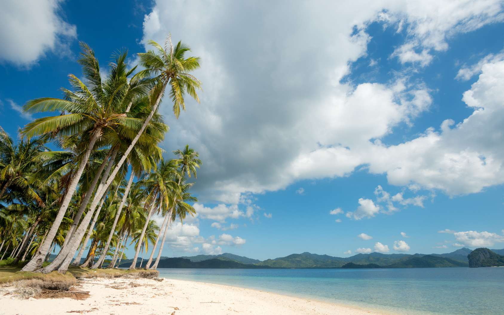 Une photo d'une plage des Philippines. © Fotolia, Christopher Howey