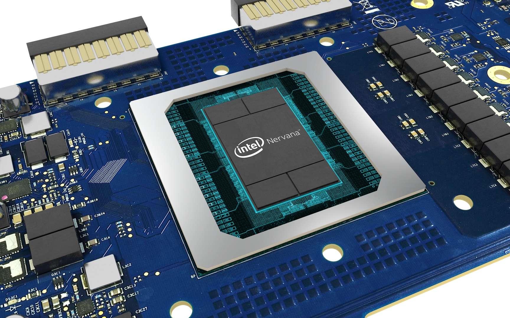 Intel dévoile ses premiers processeurs avec IA intégrée. © Intel