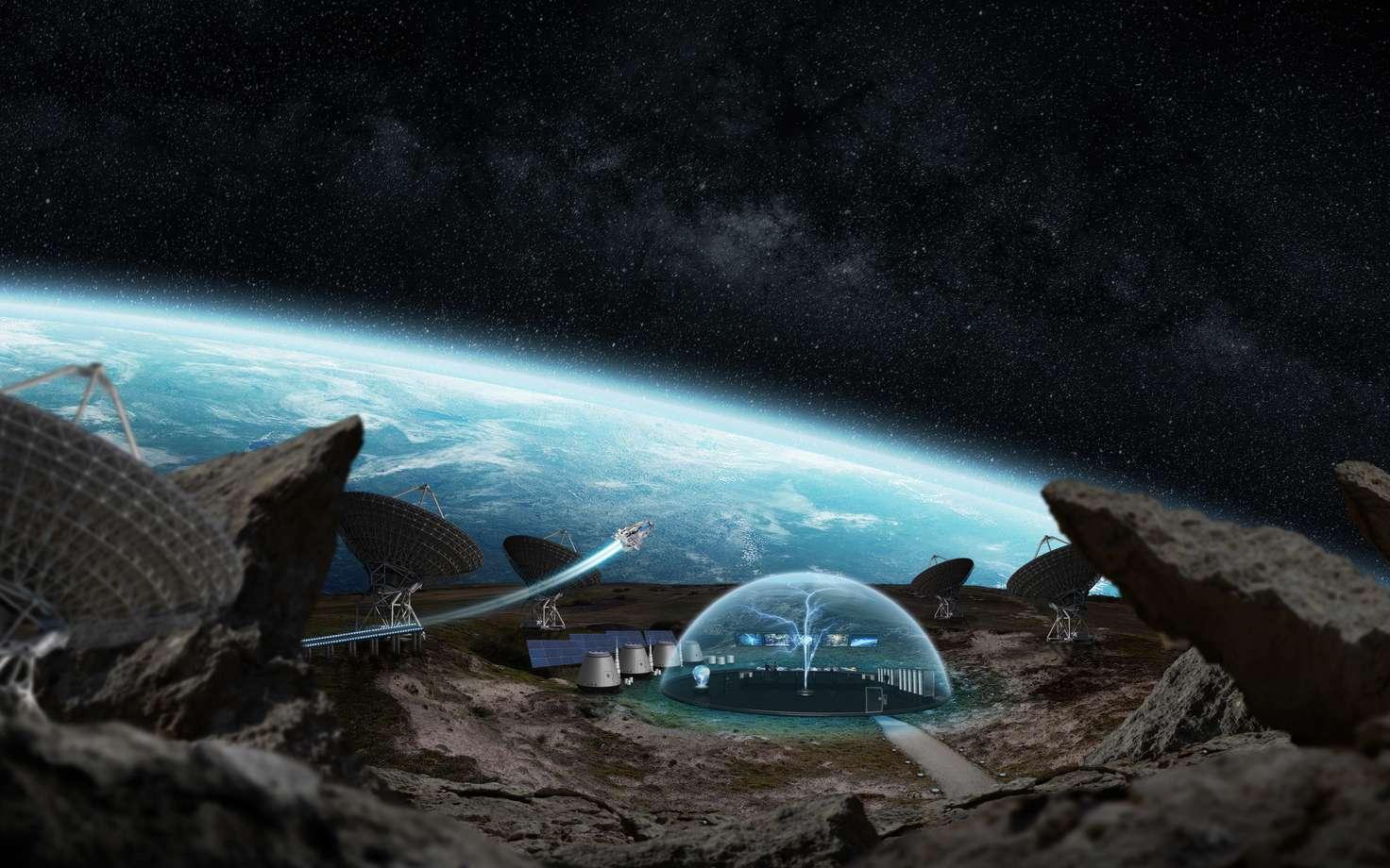 La station spatiale du futur ? © sdecoret, Fotolia