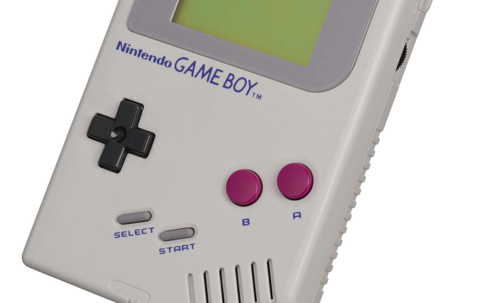 La Game Boy de Nintendo est une console portable culte des années 1990. © By Evan-Amos, DP via Wikimedia Commons