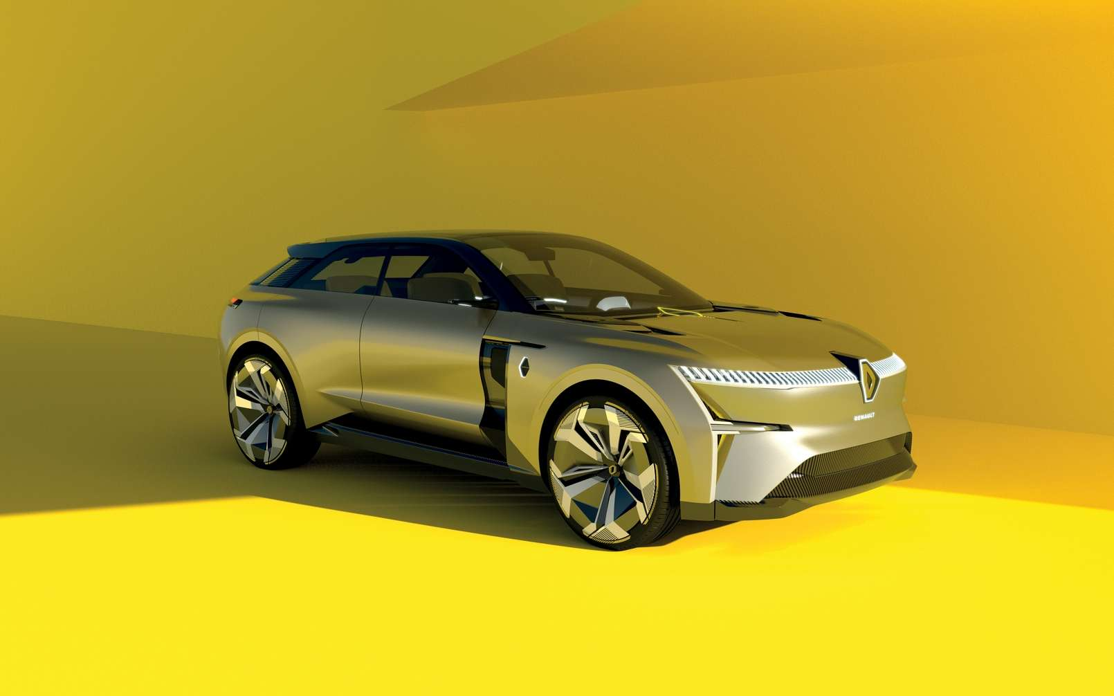 La Renault Morphoz est aussi dotée d'une conduite autonome de niveau 3. © Julien Oppenhein, Renault