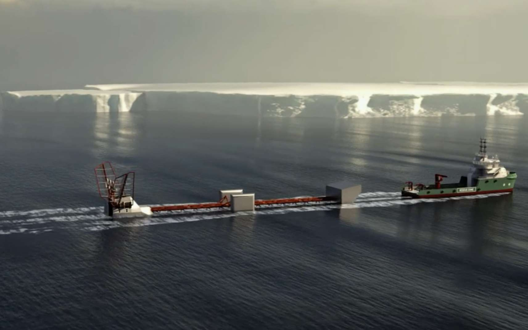 Le projet Polar Pod, une aventure scientifique de grande ampleur. © Polar Pod