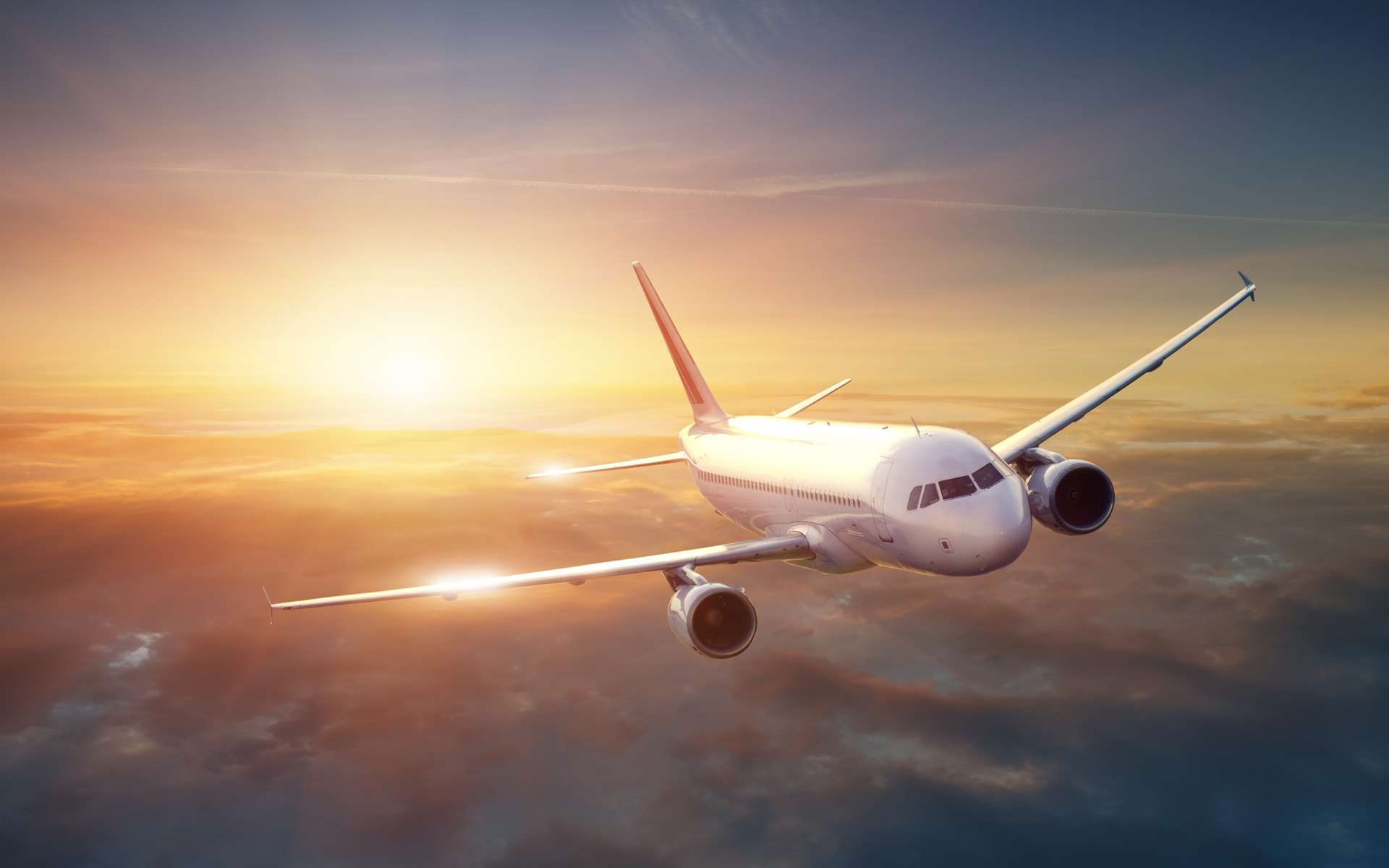 Au cours des prochaines décennies, les avions de ligne devraient consommer un peu plus de carburant, en moyenne, lors des liaisons transatlantiques entre l'Europe et l'Amérique du Nord. © IM_photo, Sutterstock