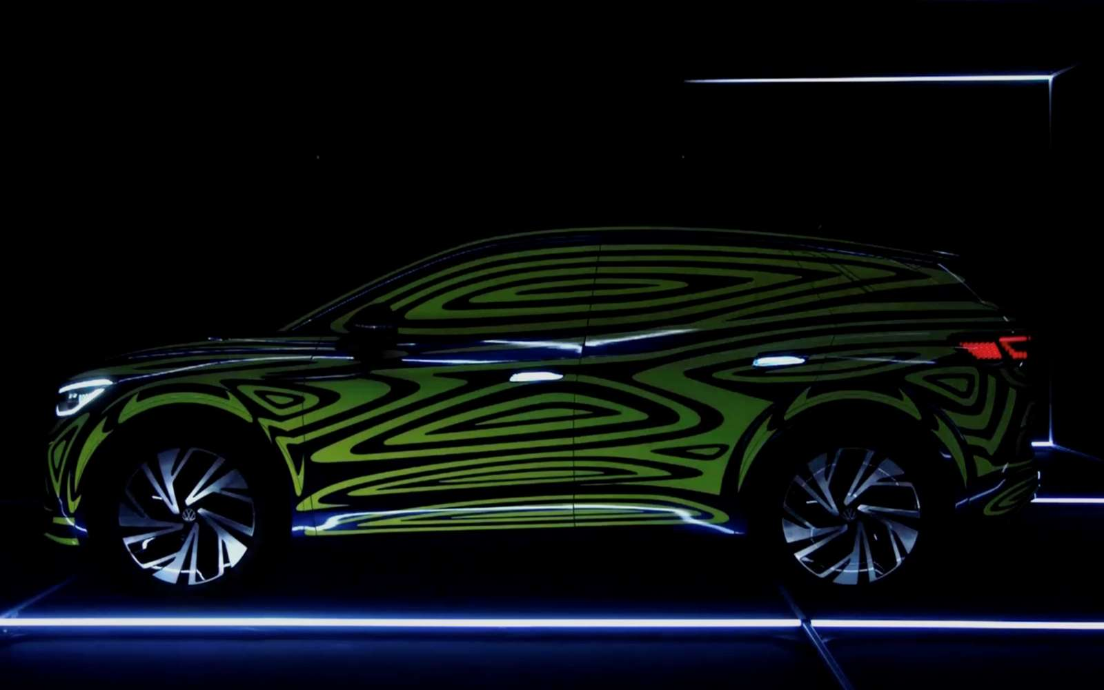 Depuis deux ans, le constructeur allemand vient à Francfort avec un SUV électrique mais la commercialisation reste un mystère. © Volkswagen