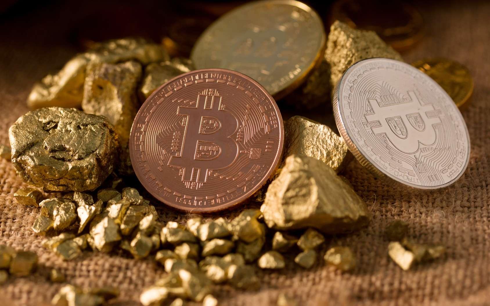 Miner un dollar de Bitcoin nécessite quatre fois plus d'énergie qu'extraire un dollar d'or. © sakdinon, Fotolia