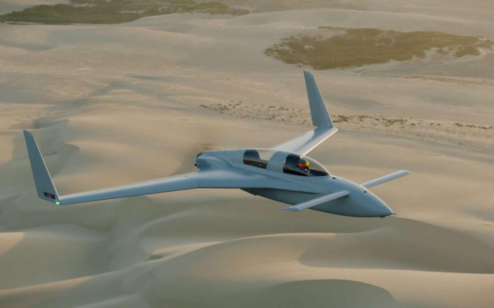 Impressionnant, le système de réalité augmentée embarqué dans un véritable avion permet de simuler un véritable combat aérien en conditions réelles. © Red 6
