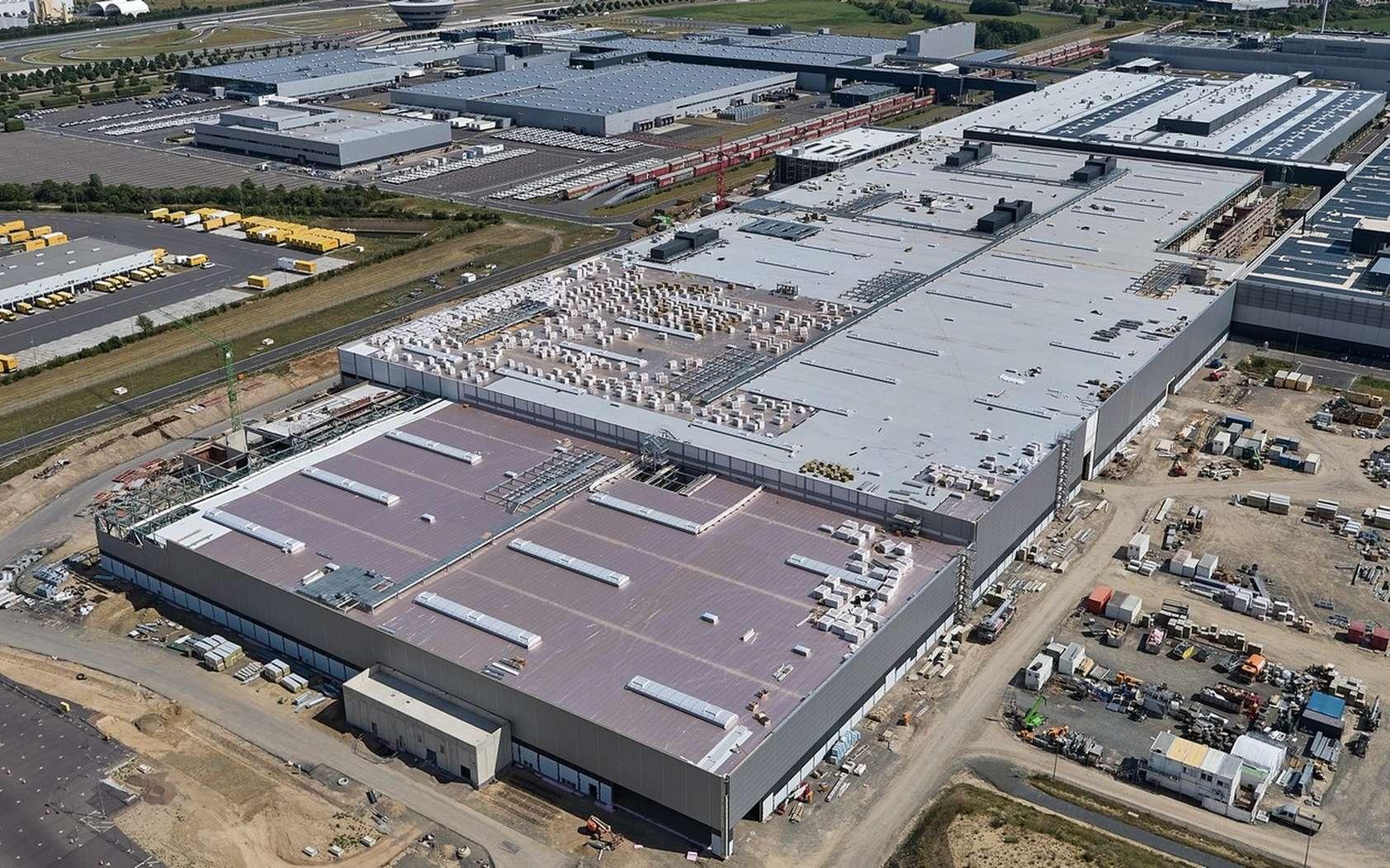 L'usine Porsche de Leipzig a été inaugurée en 2000. Le constructeur dit y avoir investi plus de 1,3 milliard d'euros. © Porsche
