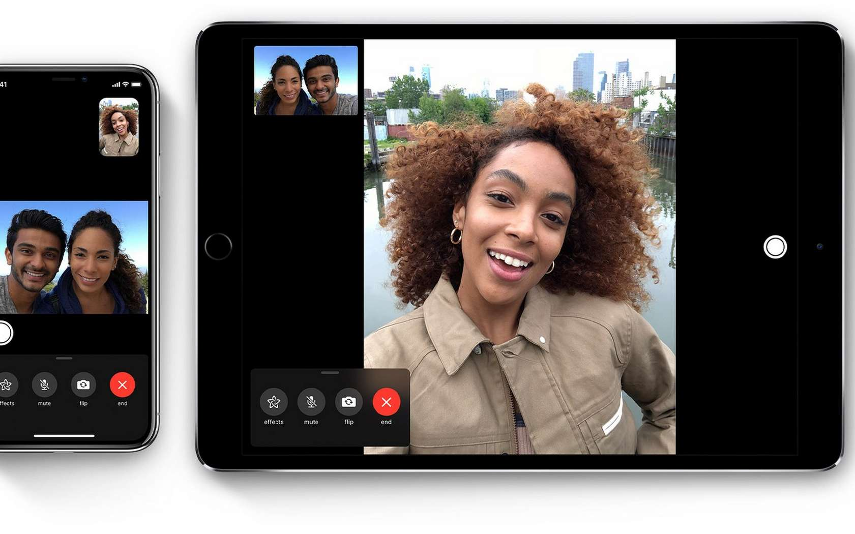 FaceTime d'Apple est victime d'un bug. © Apple