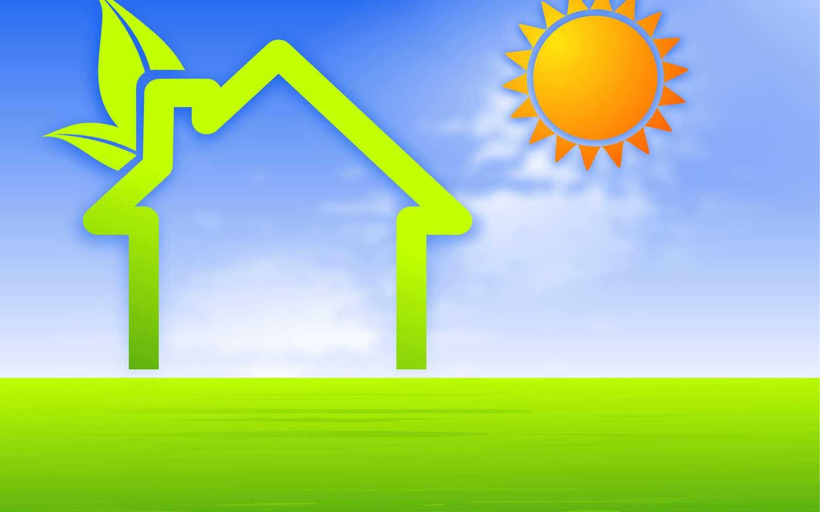 Une maison à basse consommation d'énergie doit être économe sur cinq postes principaux : eau chaude, refroidissement, ventilation, chauffage et éclairage. © Ainoa - Fotolia.com