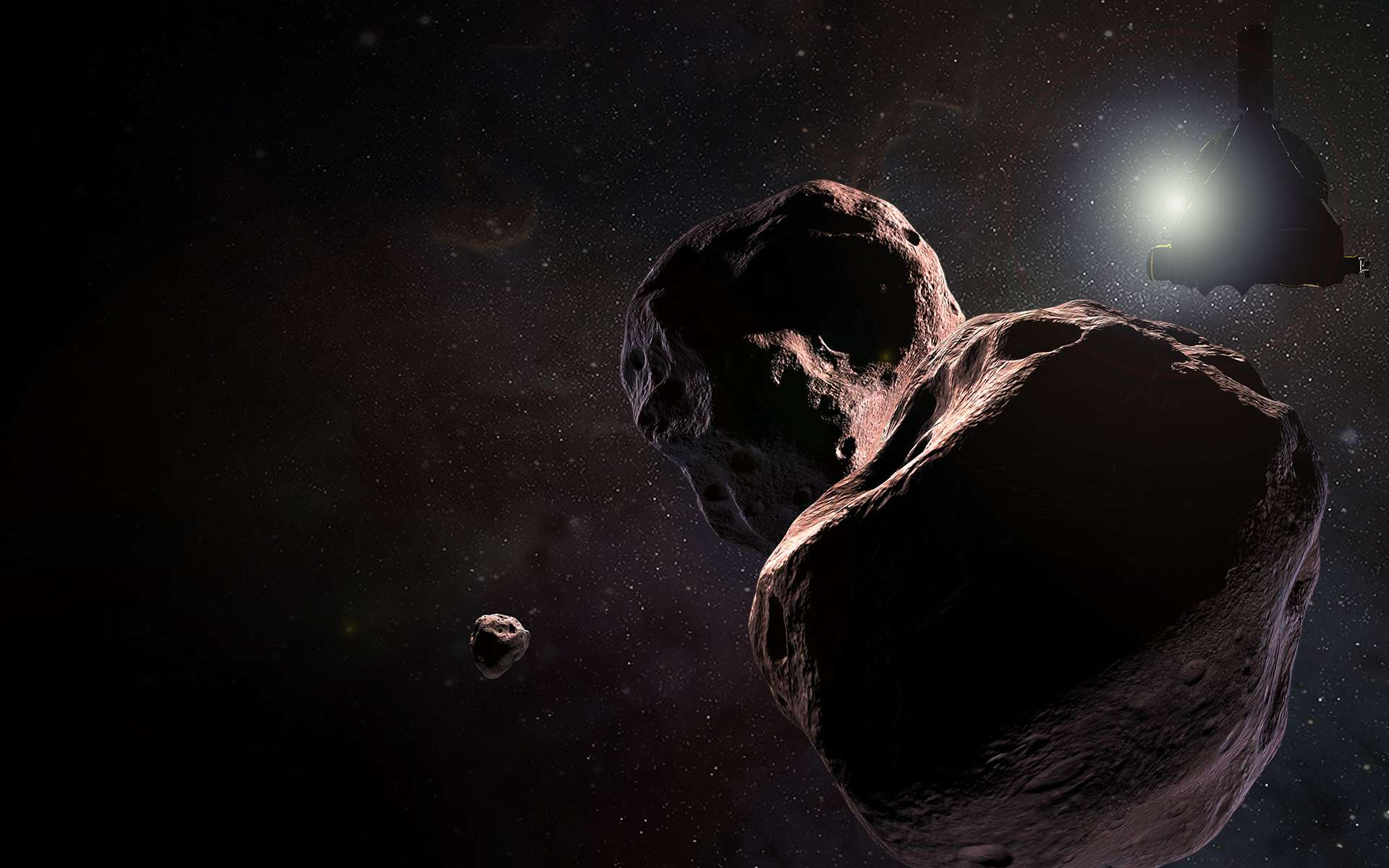 New Horizons a été la première mission a avoir survolé Pluton et Charon et aussi à approcher un objet de la ceinture de Kuiper. © Nasa, Johns Hopkins Applied Physics Laboratory, Southwest Research Institute
