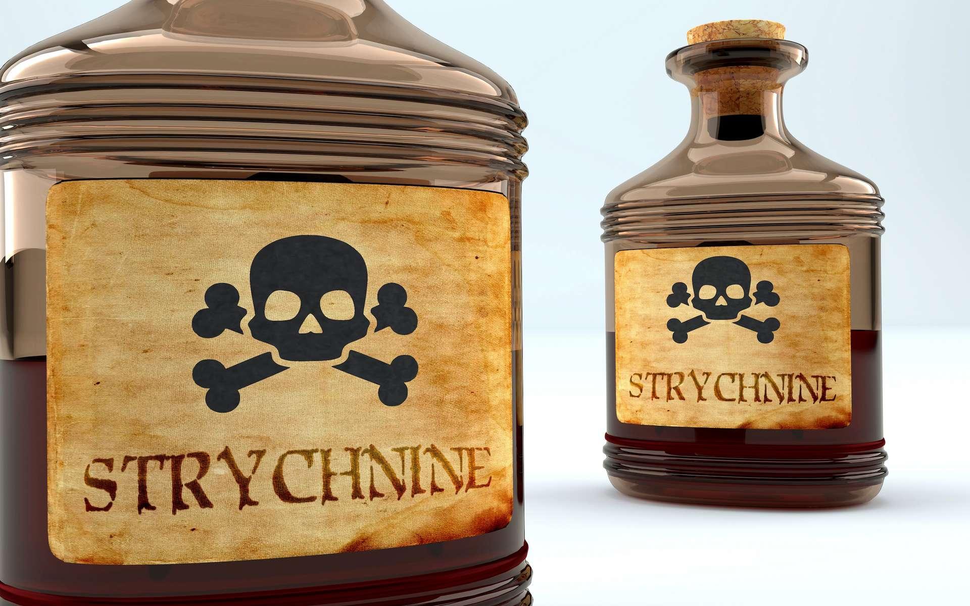 La strychnine est un poison très rapide et violent. © GoodIdeas, Adobe Stock