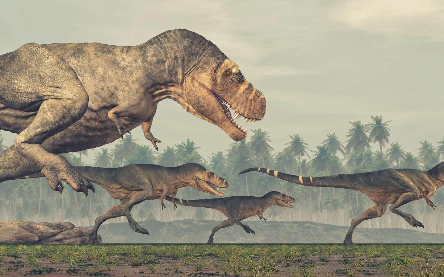 Des sites remarquables sur les dinosaures : il y en a en France ! © Orlando Florin Rosu, Fotolia