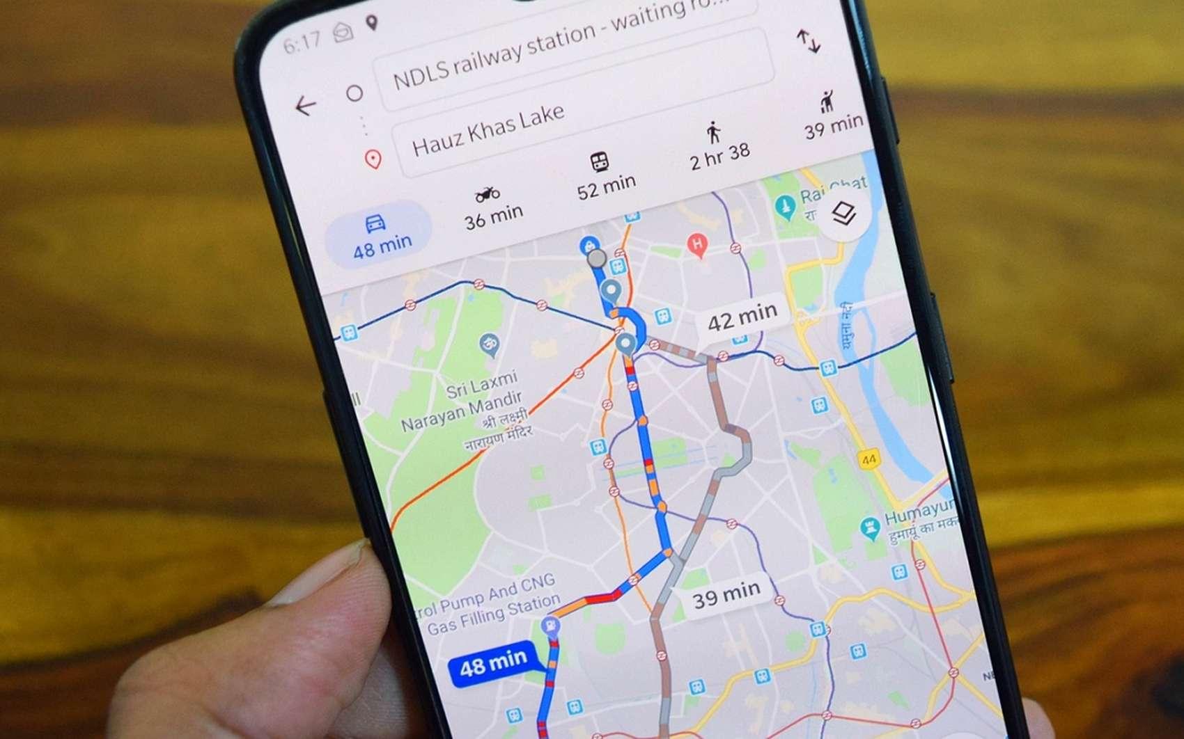 Futura vous explique comment empêcher Google Maps de vous localiser. © Deepanker Verma de Pixabay