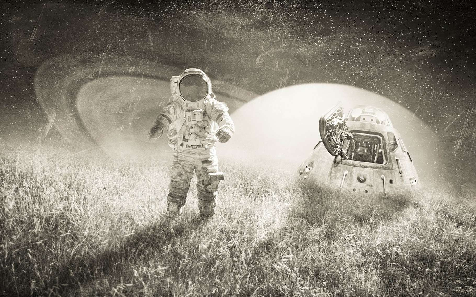 Selon une étude de la Nasa, plus un vol spatial est long, plus les virus dormants des astronautes se réactivent. De quoi poser problème en vue des prochaines missions habitées vers Mars notamment. © Comfreak, Pixabay, CC0 Creative Commons