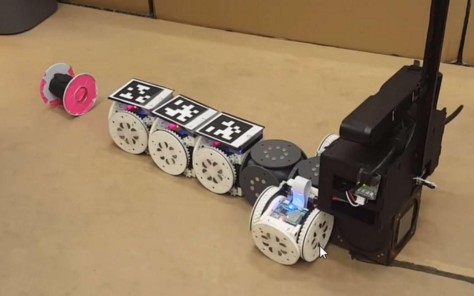 Le robot modulaire de l'université Cornell. © Tarik Tosun, Cornell University