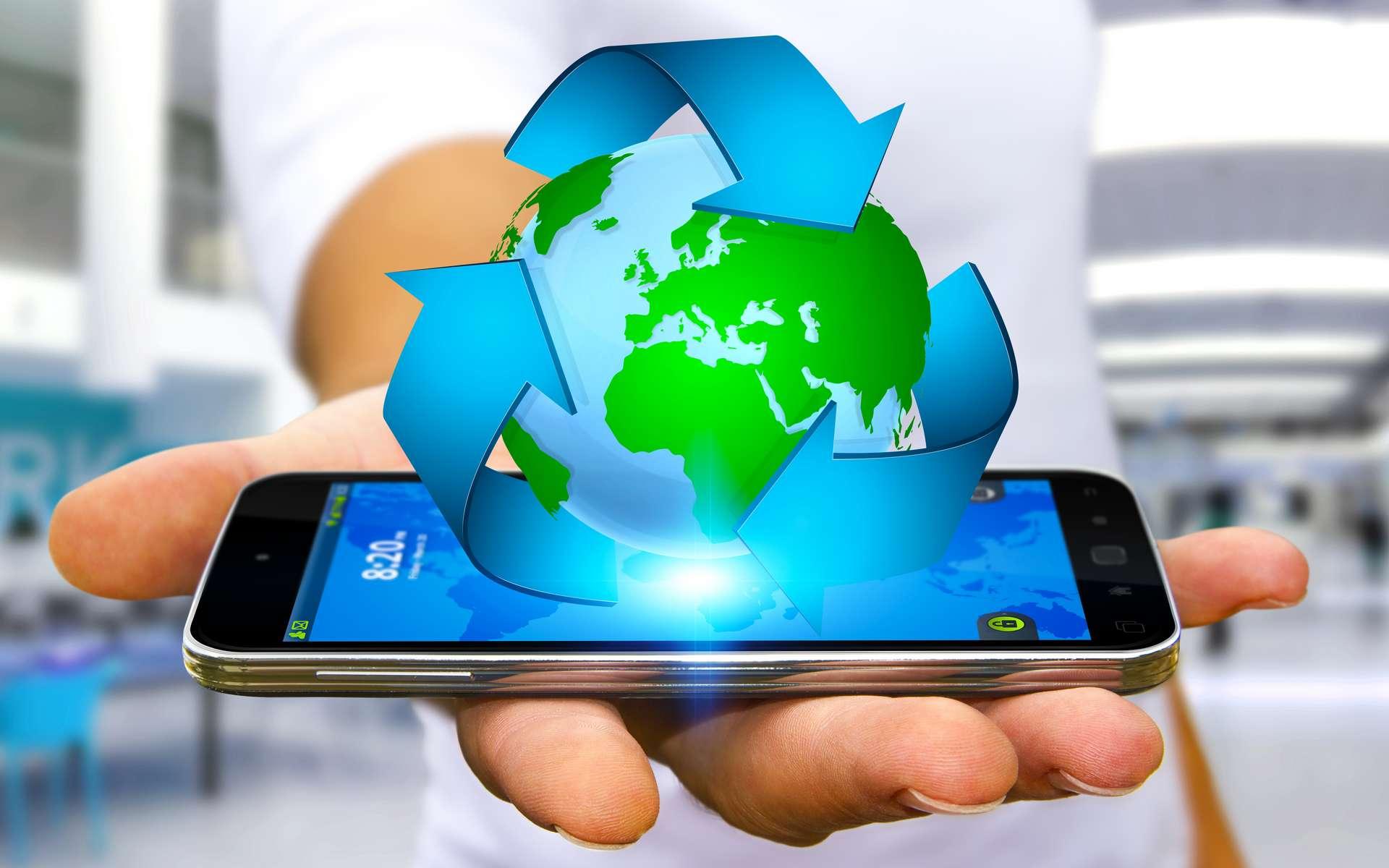 Les smartphones et tablettes reconditionnés possèdent un très bon niveau de performance. En leur donnant une seconde vie, vous réduisez leur impact sur l'environnement et ferez des économies. Une économie circulaire bonne pour la planète. © sdecoret, Adobe Stock