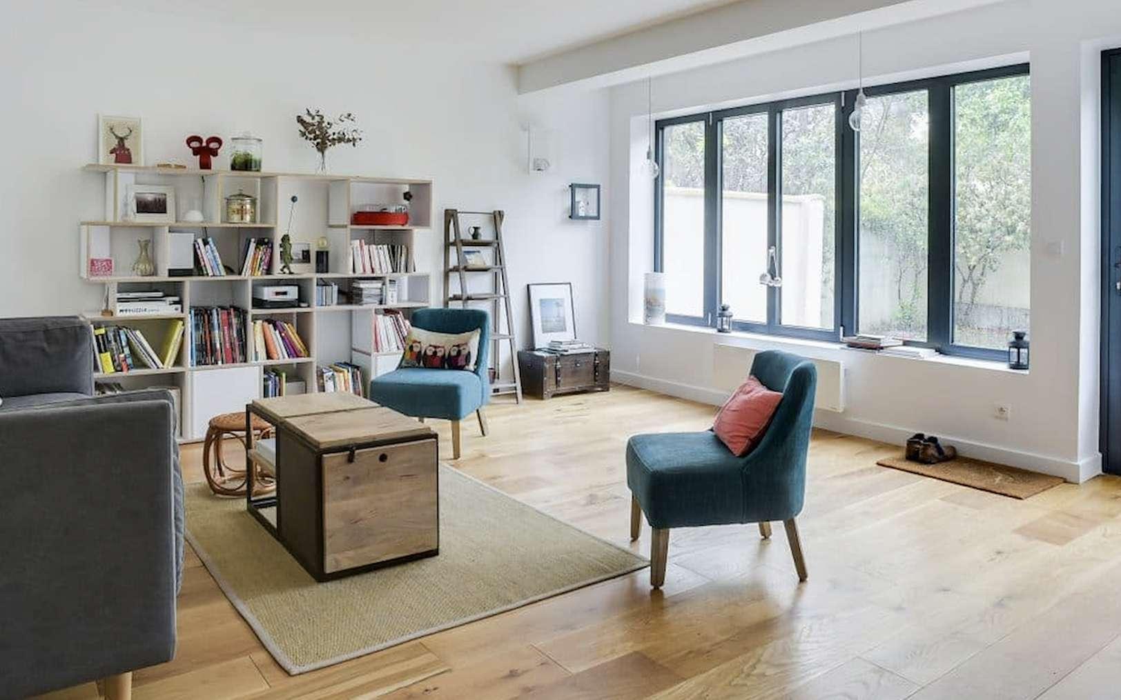 Extension sur deux niveaux, chacun de 25 m2, d'une maison individuelle à Colombes. © illico Travaux