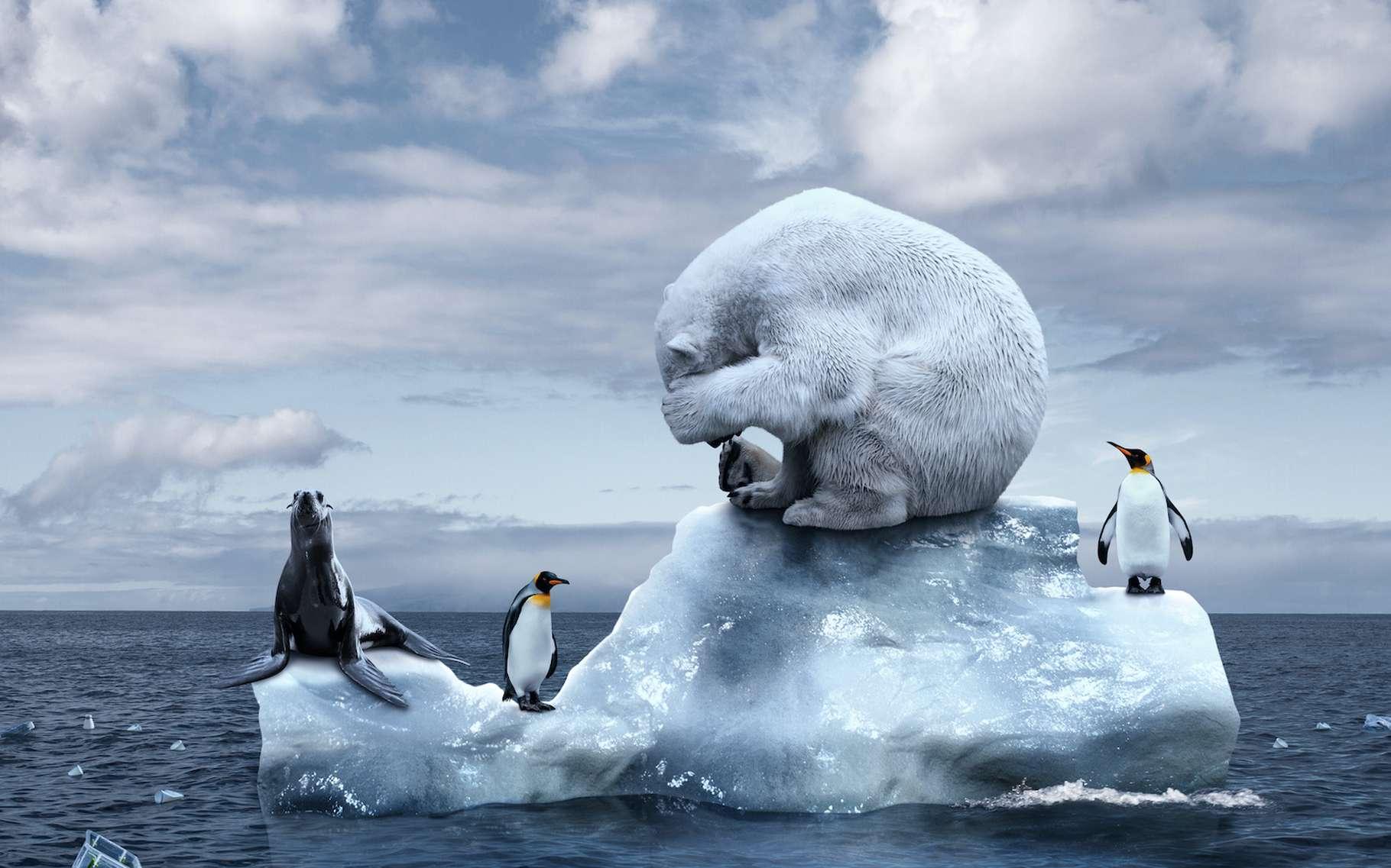 Ces substances sont responsables de la moitié du réchauffement de...