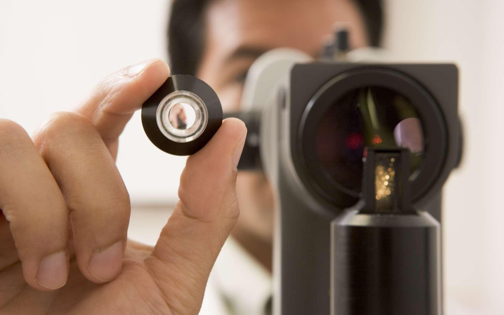 L'hydrophtalmie est due à une pression intraoculaire trop élevée. ©Phovoir