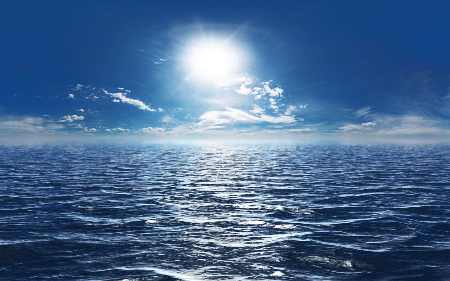 Une vue possible de la surface d'une planète océan. © apfelweile, Fotolia