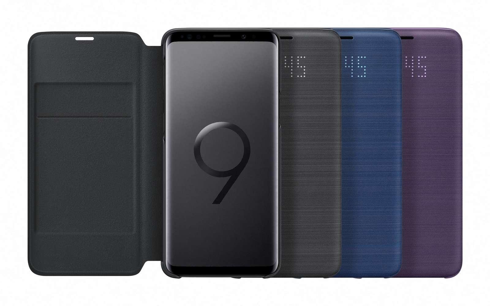 Le Samsung Galaxy S9 est le premier smartphone à proposer un capteur photo à focale variable. © Samsung