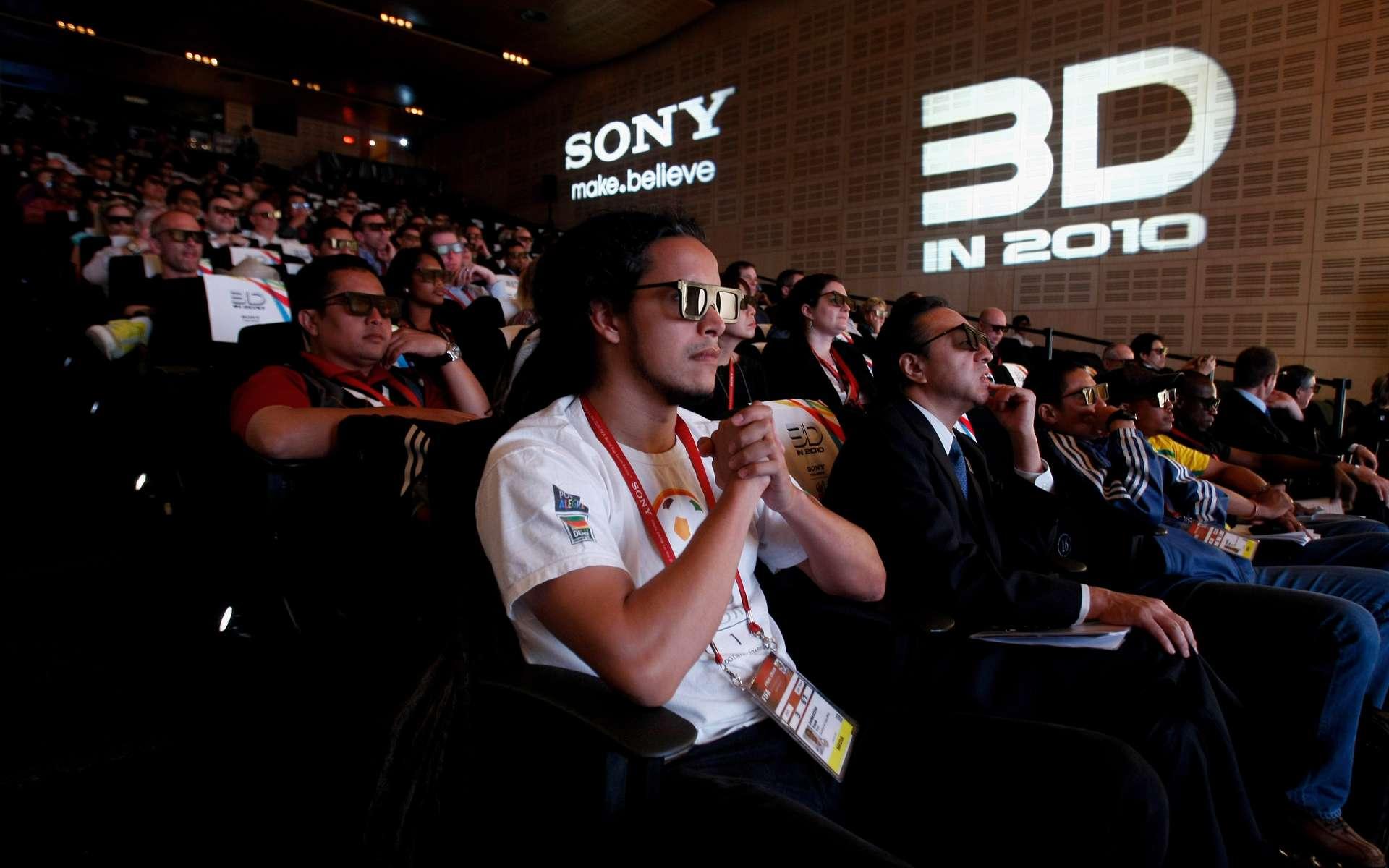 Les films 3D deviendront légion. © Getty