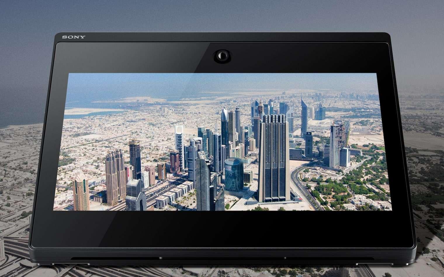 Le Spatial Reality Display de Sony est un écran holographique avec suivi oculaire. © Sony