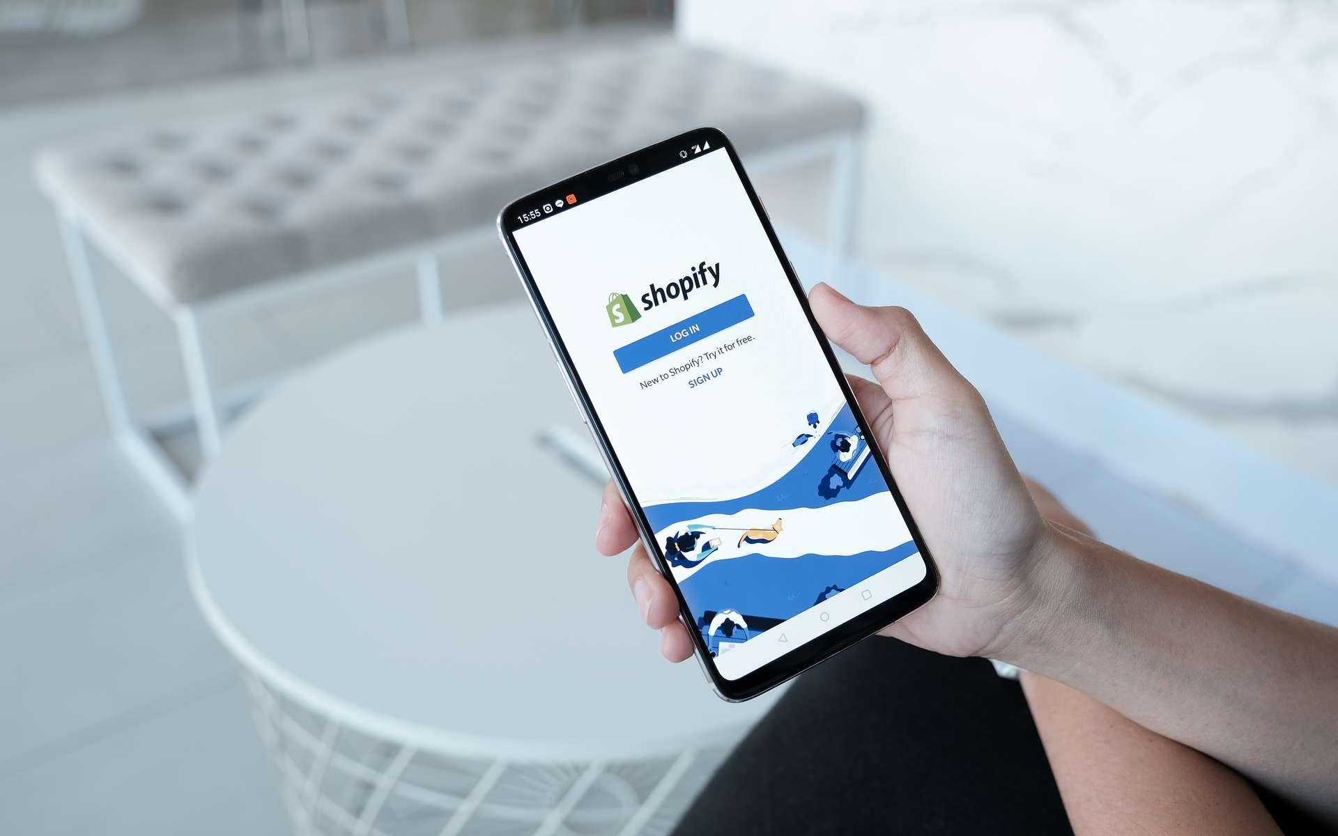 Logo Shopify. © Jirapong, Adobe Stock