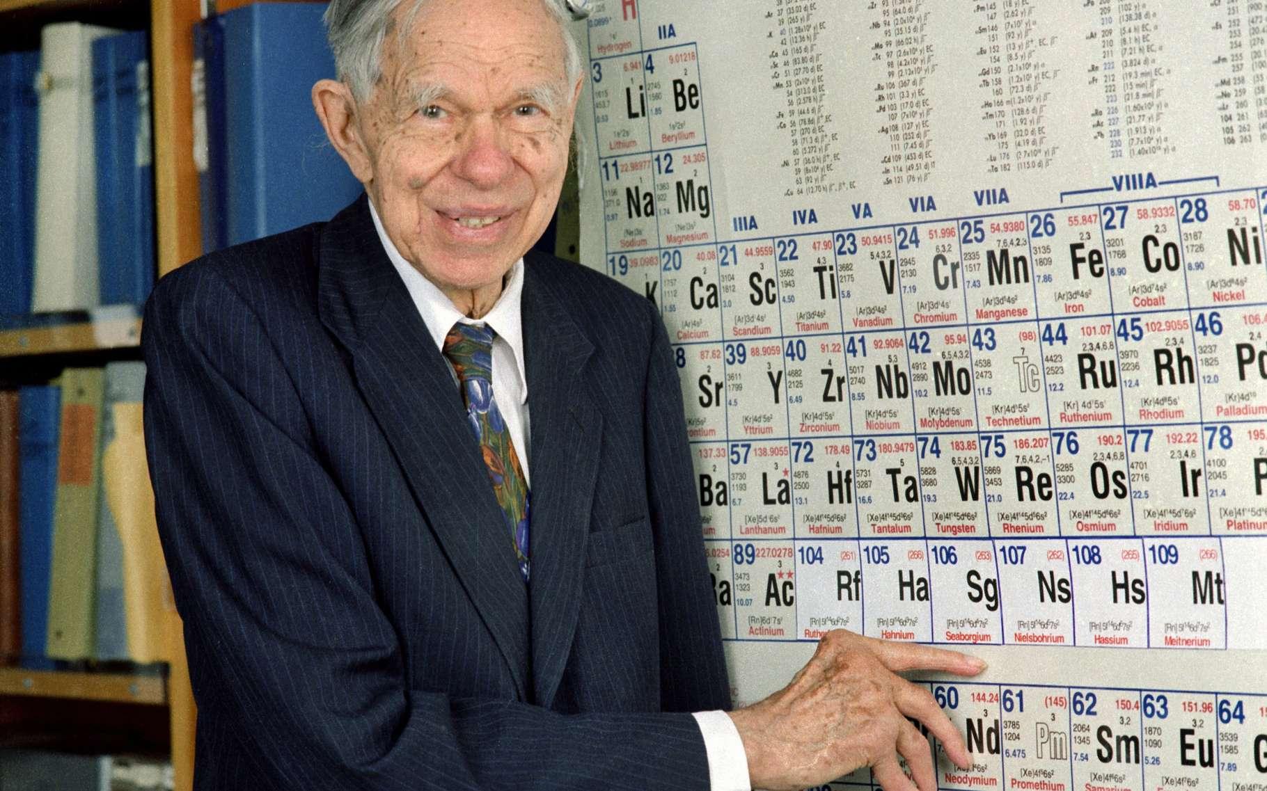 Le seaborgium a été baptisé en l'honneur du chimiste et physicien Glenn Theodore Seaborg, de son vivant. © Nuclear Regulatory Commission, Flickr, CC by 2.0