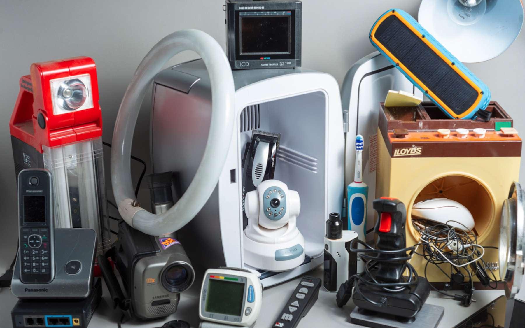 Chaque habitant de la Planète produit 7,3 kilos de déchets électriques et électroniques par an. © UNU-Unitar Scycle, Yassyn Sidki