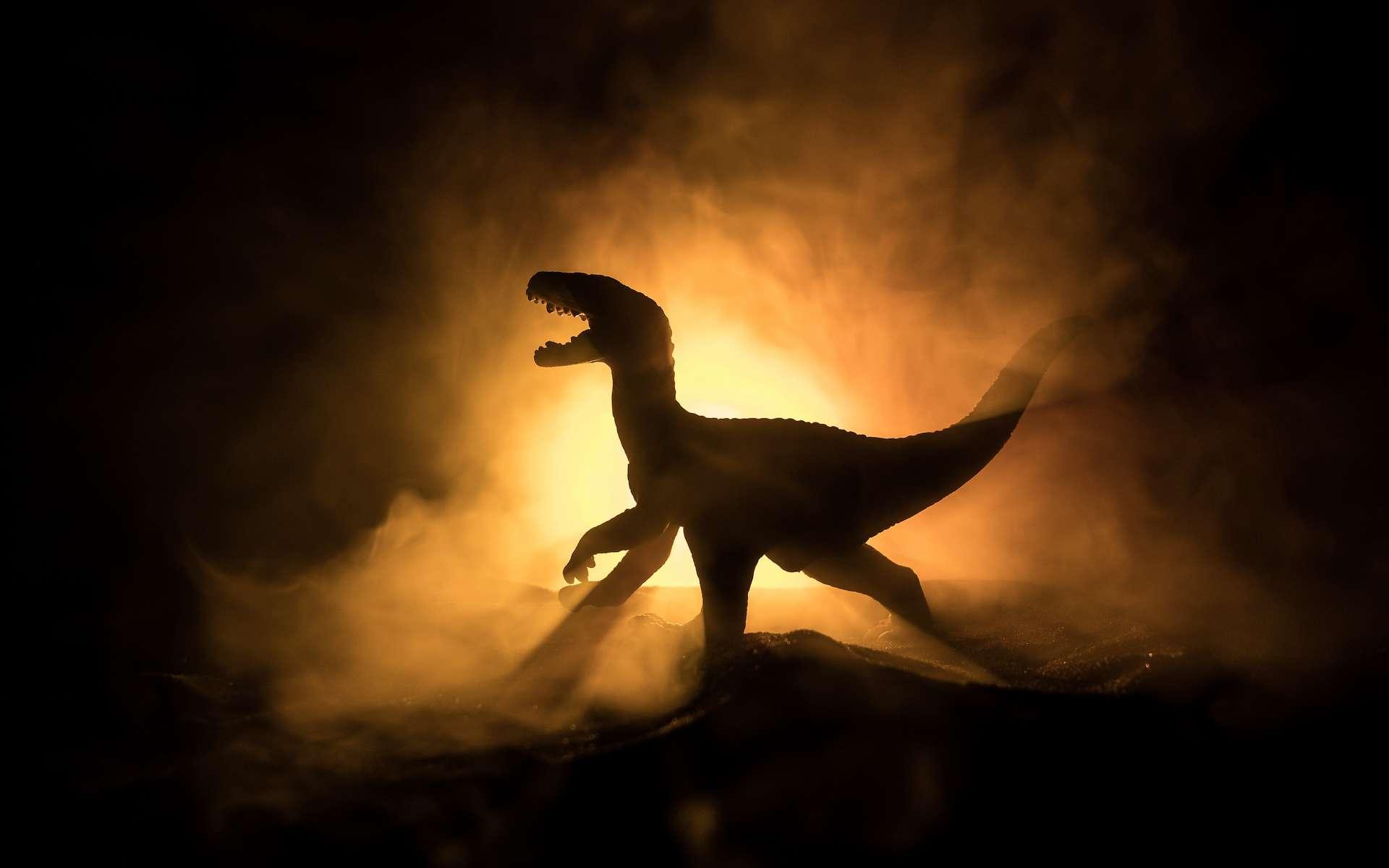 Des chercheurs nous en apprennent un peu plus sur le T-Rex. Il aurait vécu et chassé en meute et se serait déplacé plus lentement que ne le pensaient les paléontologues par le passé. © zef art, Adobe Stock