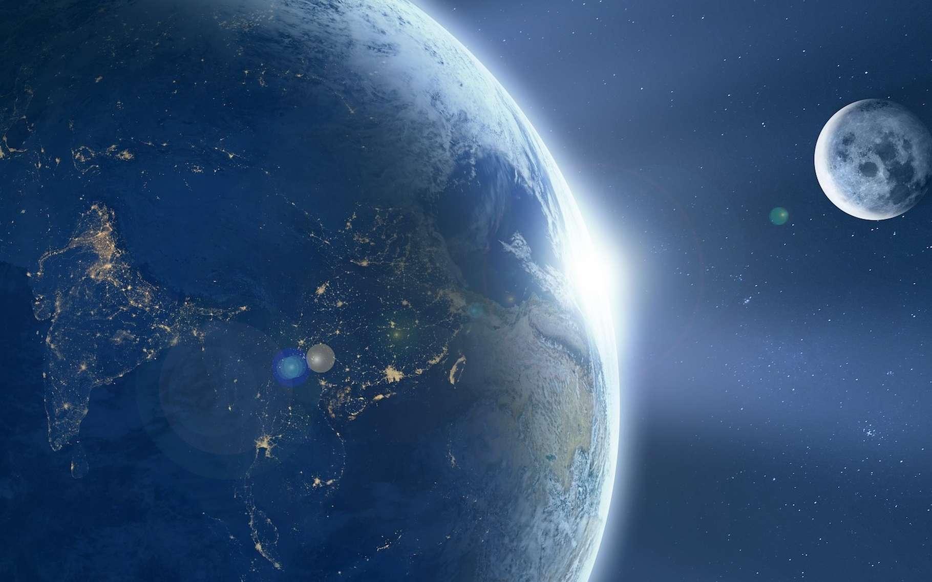 Le Lidar, même s'il n'était pas nécessairement baptisé ainsi à l'époque, a permis de mesurer précisément la distance Terre-Lune. © Comfreak, Pixabay, CCO Creative Commons