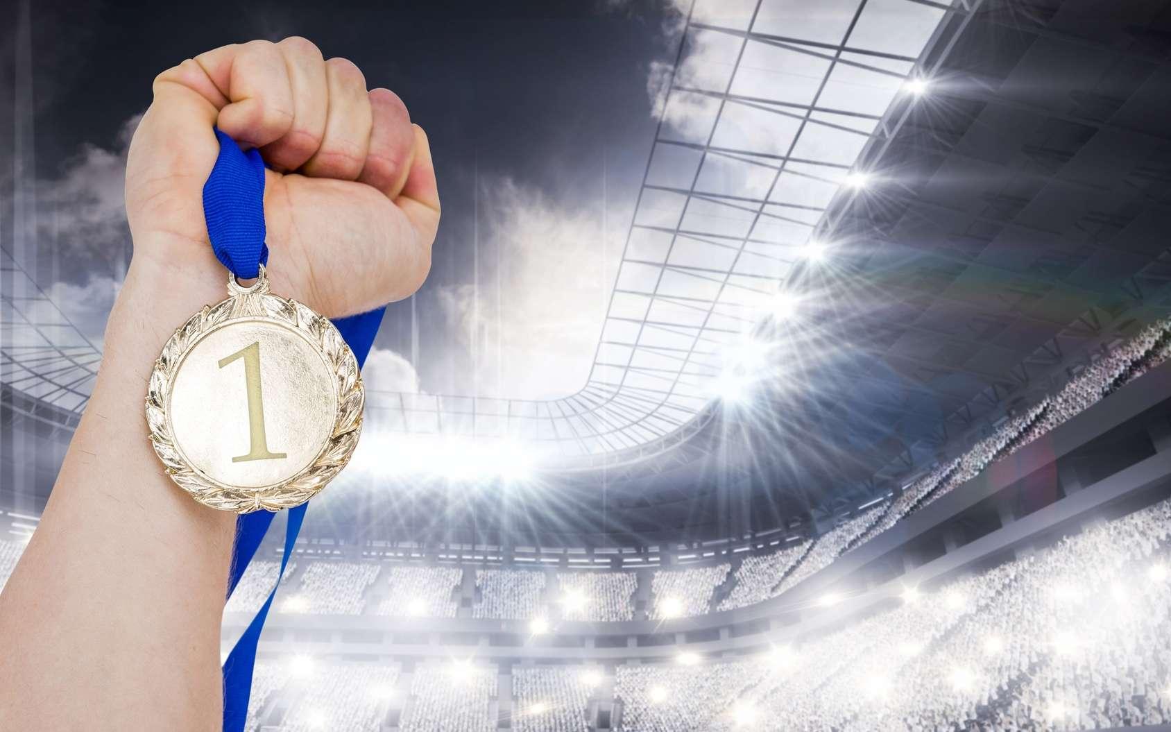 Au palmarès des sportifs les plus médaillés de l'histoire moderne des Jeux olympiques, Michael Phelps arriver premier. © vectorfusionart, fotolia