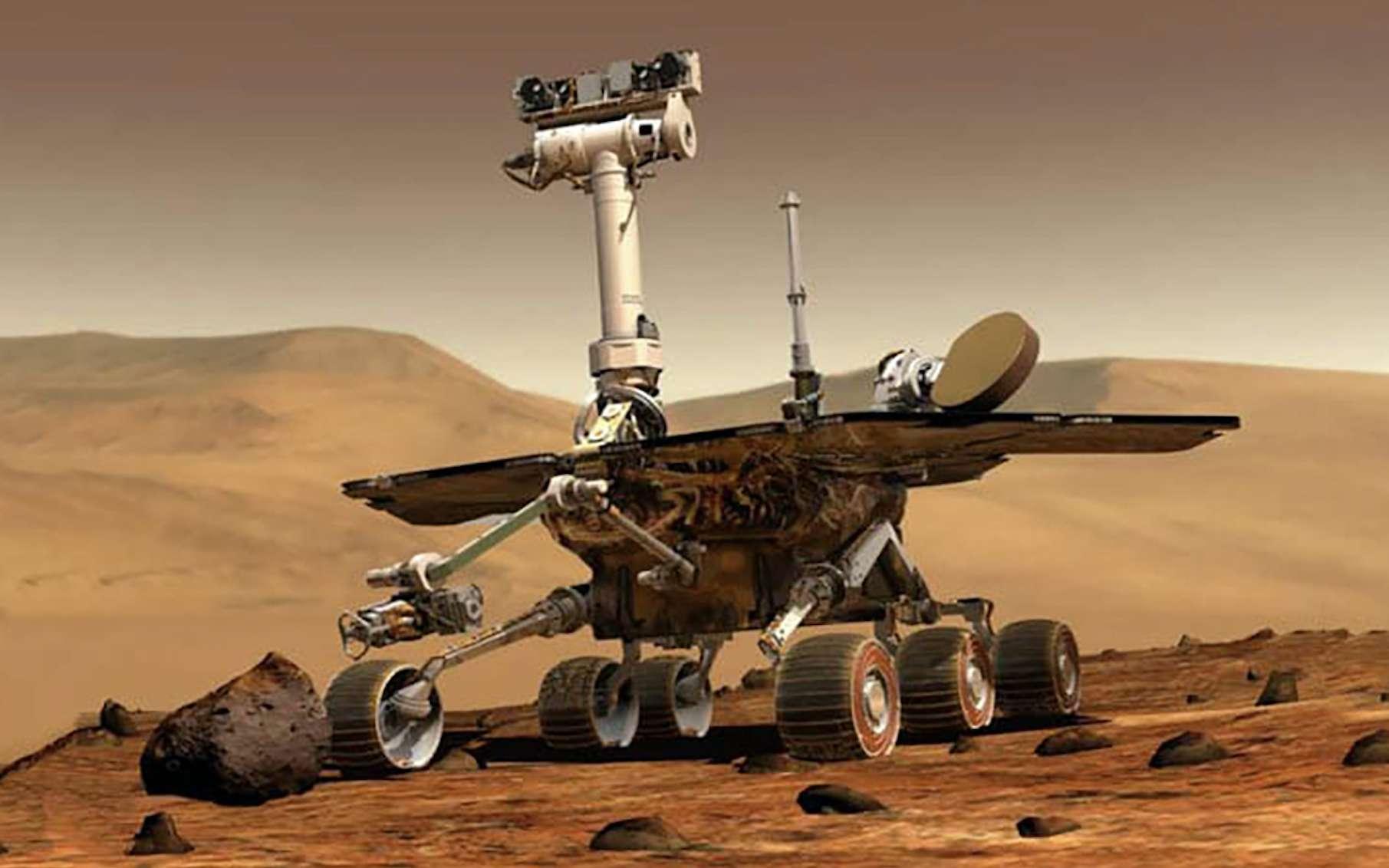 Tianwen-1 a photographié le rover Zhurong depuis l'orbite de Mars