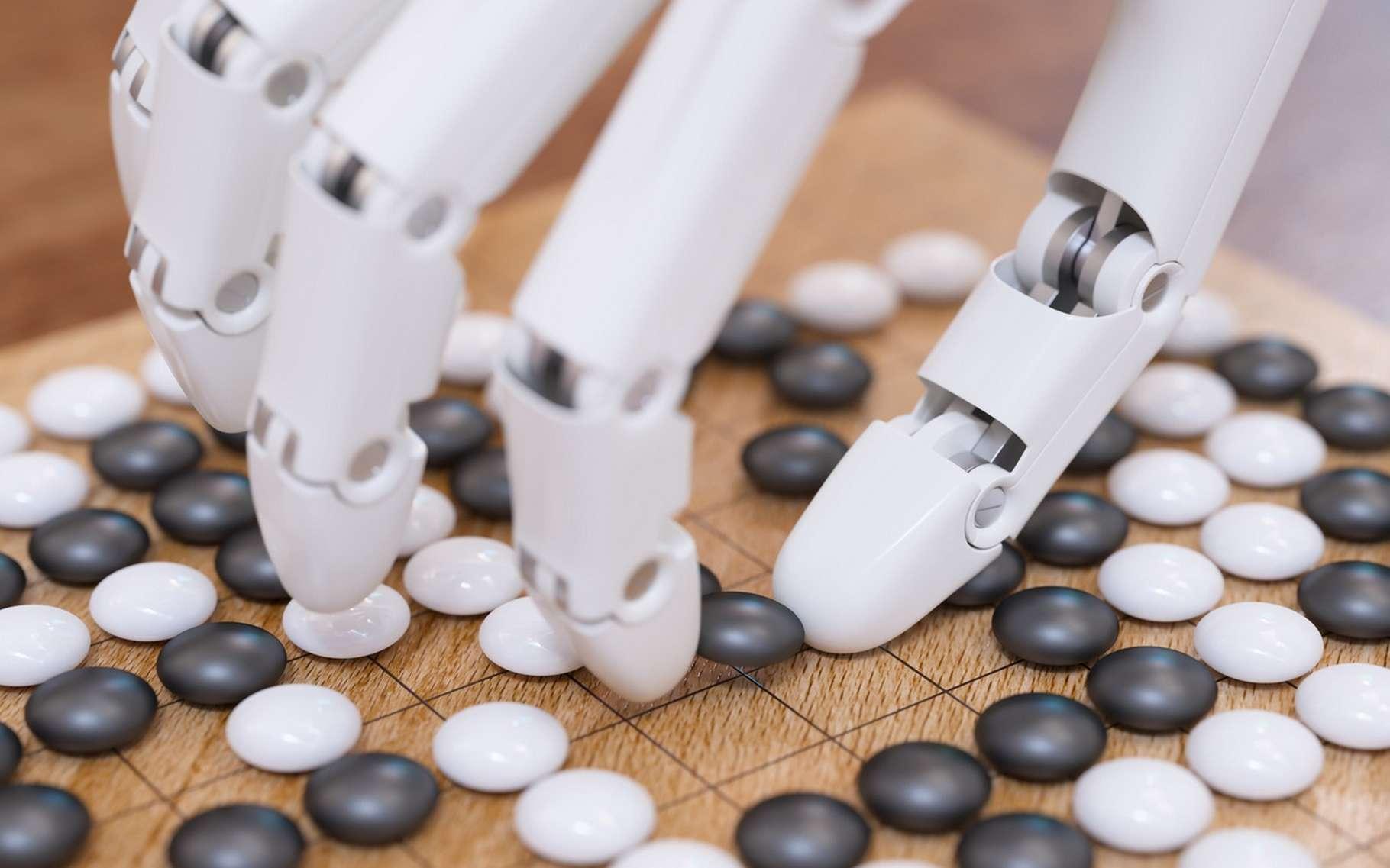 Le jeu de go était le dernier jeu de réflexion qui résistait encore aux algorithmes de calcul. Le programme d'intelligence AlphaGo a mis fin à la supériorité humaine. © Sergey, Fotolia