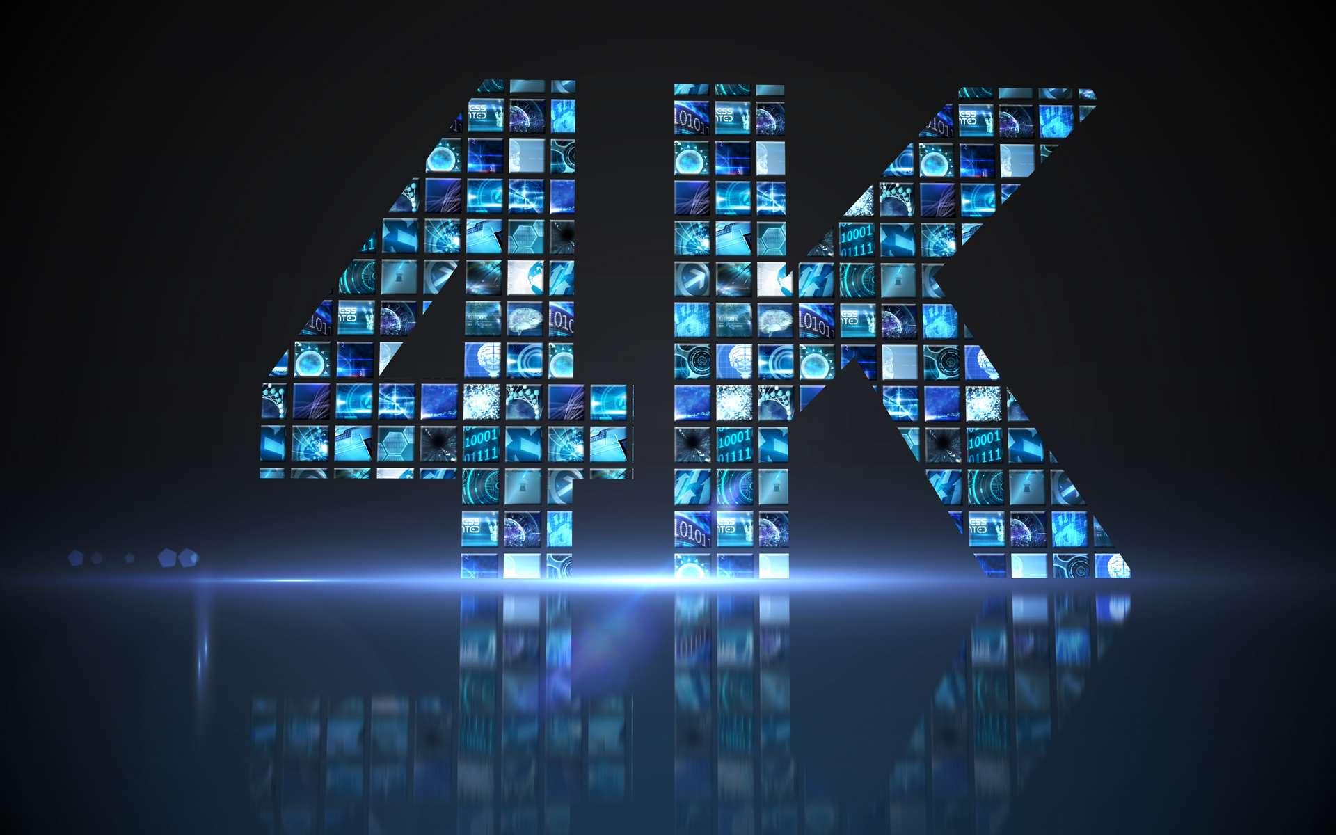 La résolution 4K ou Ulta Haute Définition. © WavebreakmediaMicro, Adobe Stock