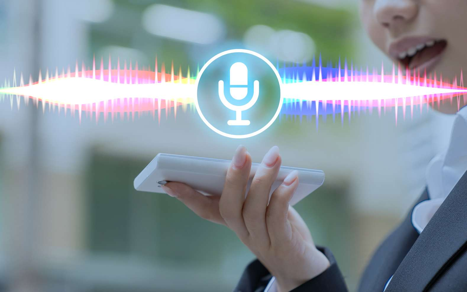 La commande vocale « Ok Google » fonctionne sur les smartphones Android et iOS. Comment l'activer ? © chombosan, fotolia